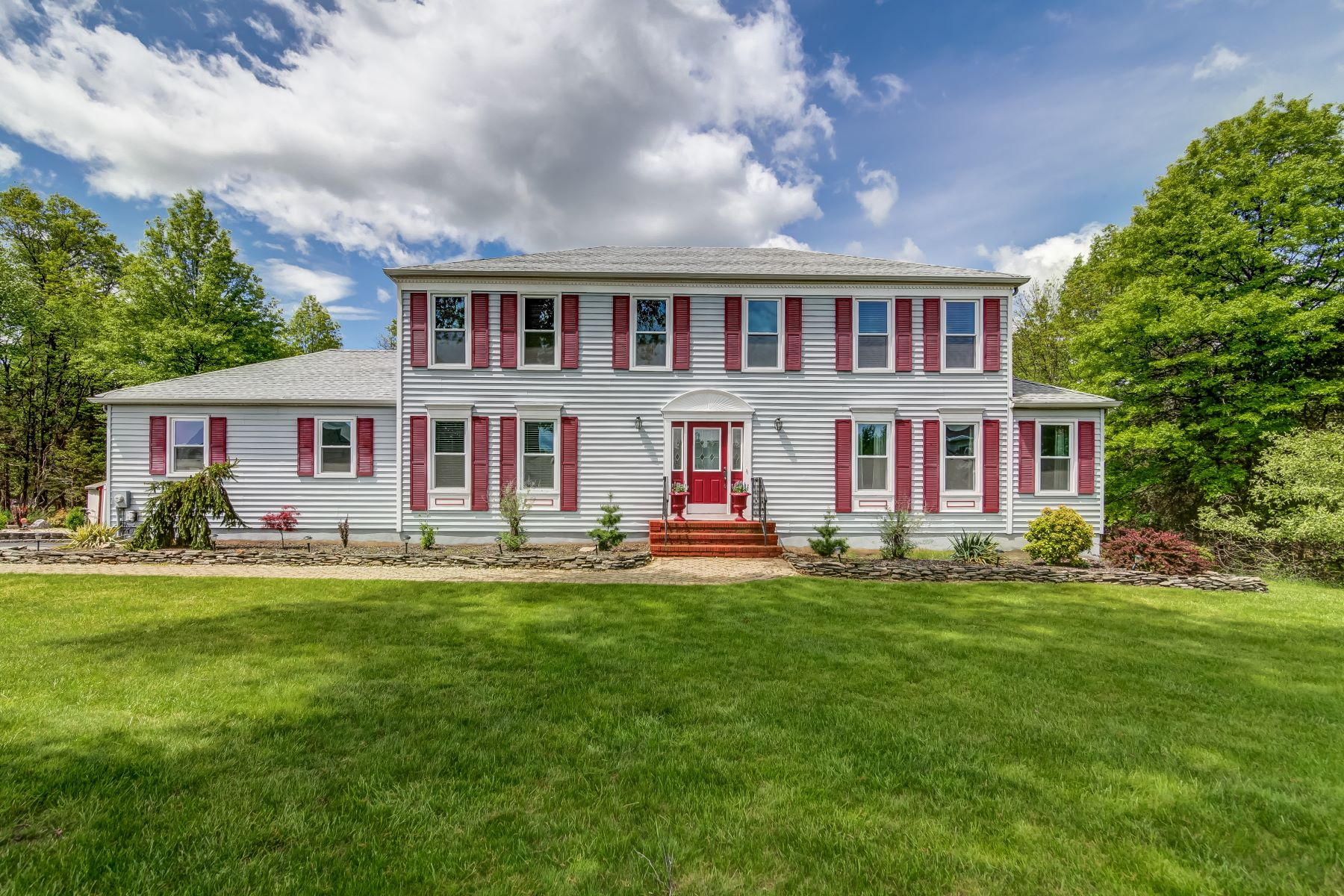 Single Family Home for Sale at Beautiful Colonial 11 Powelson Lane Bridgewater, New Jersey 08807 United States