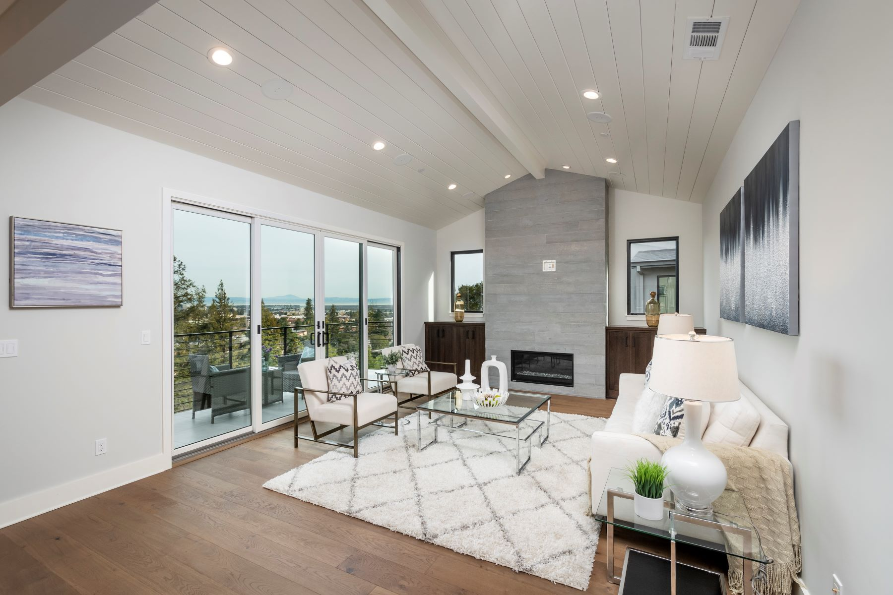 Single Family Home for Active at Exceptional Modern Farmhouse 706 Knoll Drive San Carlos, California 94070 United States