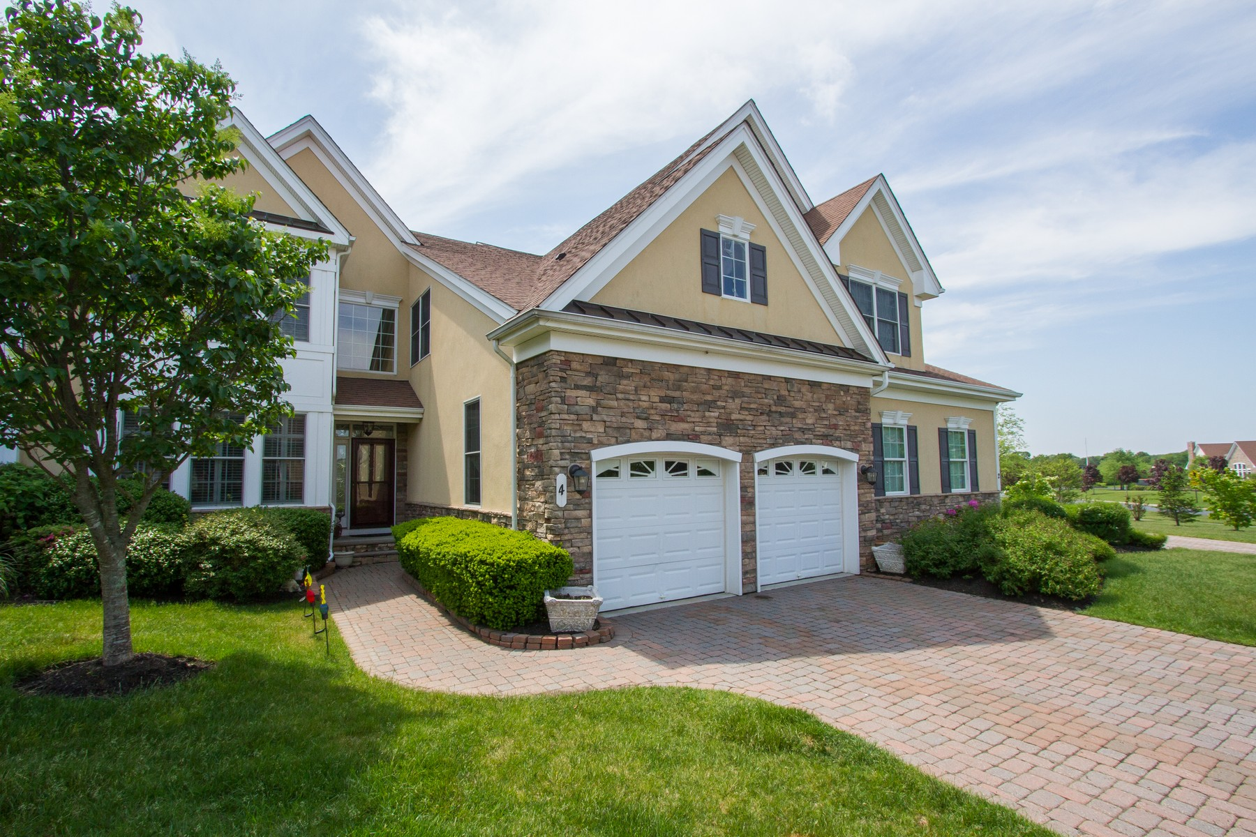 Single Family Home for Sale at Greenbriar Falls 4 Mineral Springs, Tinton Falls, New Jersey 07724 United States