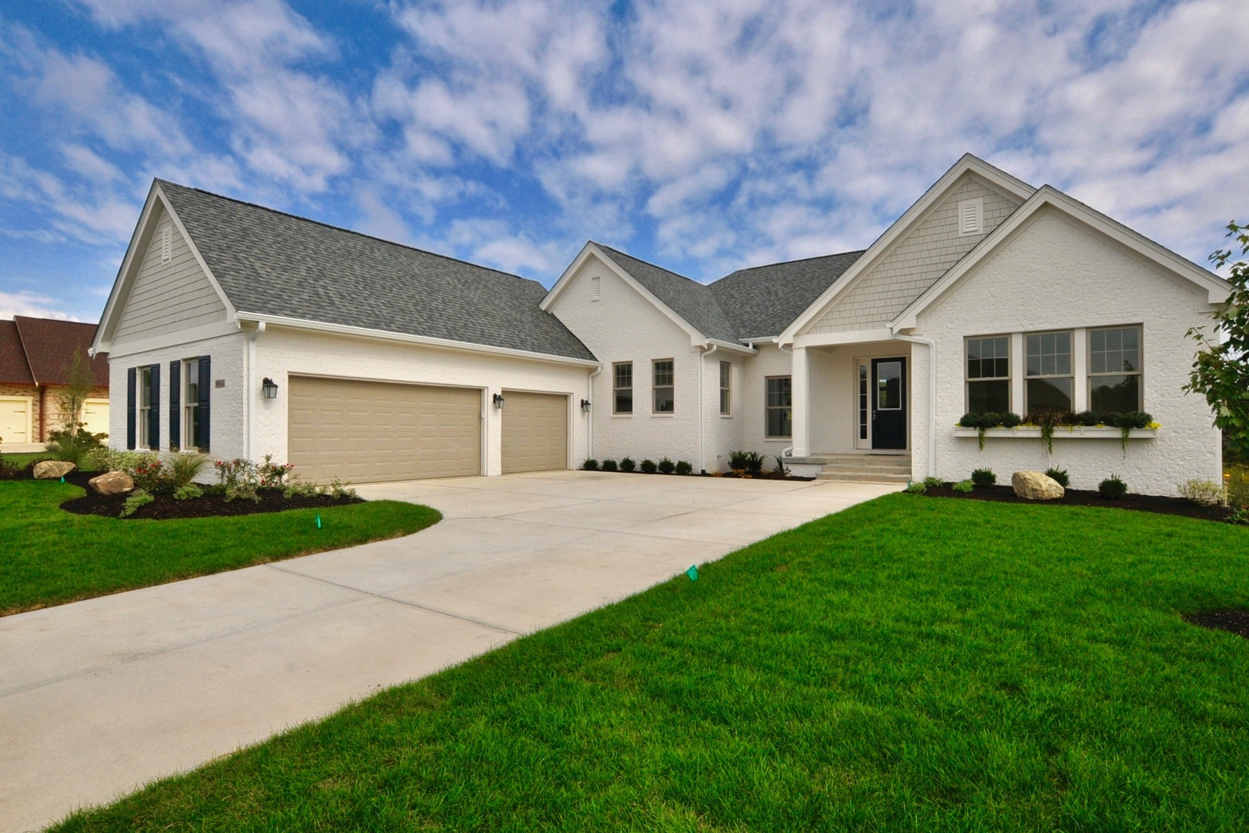Single Family Home for Sale at Top of the Line Finishes 9915 S. Towne Lane Carmel, Indiana 46033 United States