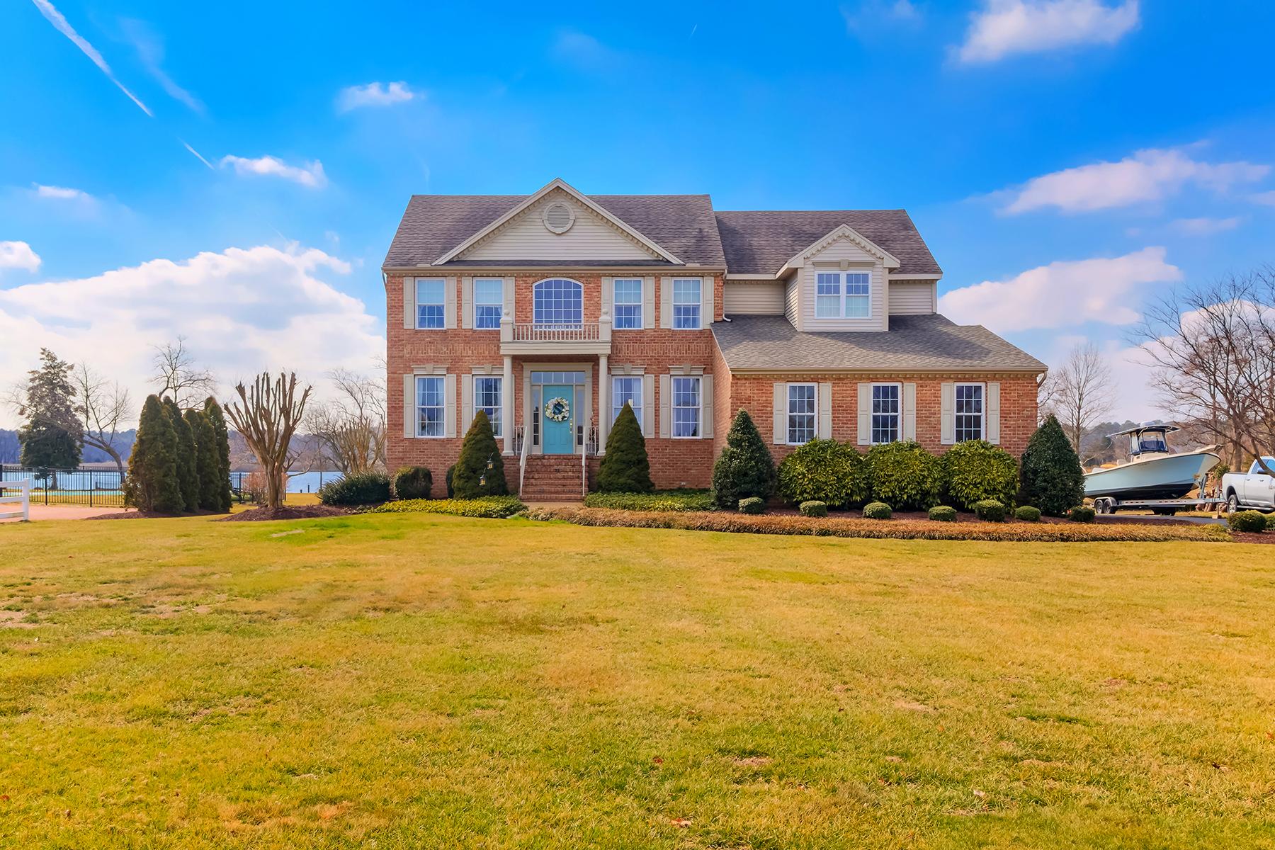 Single Family Homes 为 销售 在 11010 Trappe Creek Drive 柏林, 马里兰州 21811 美国