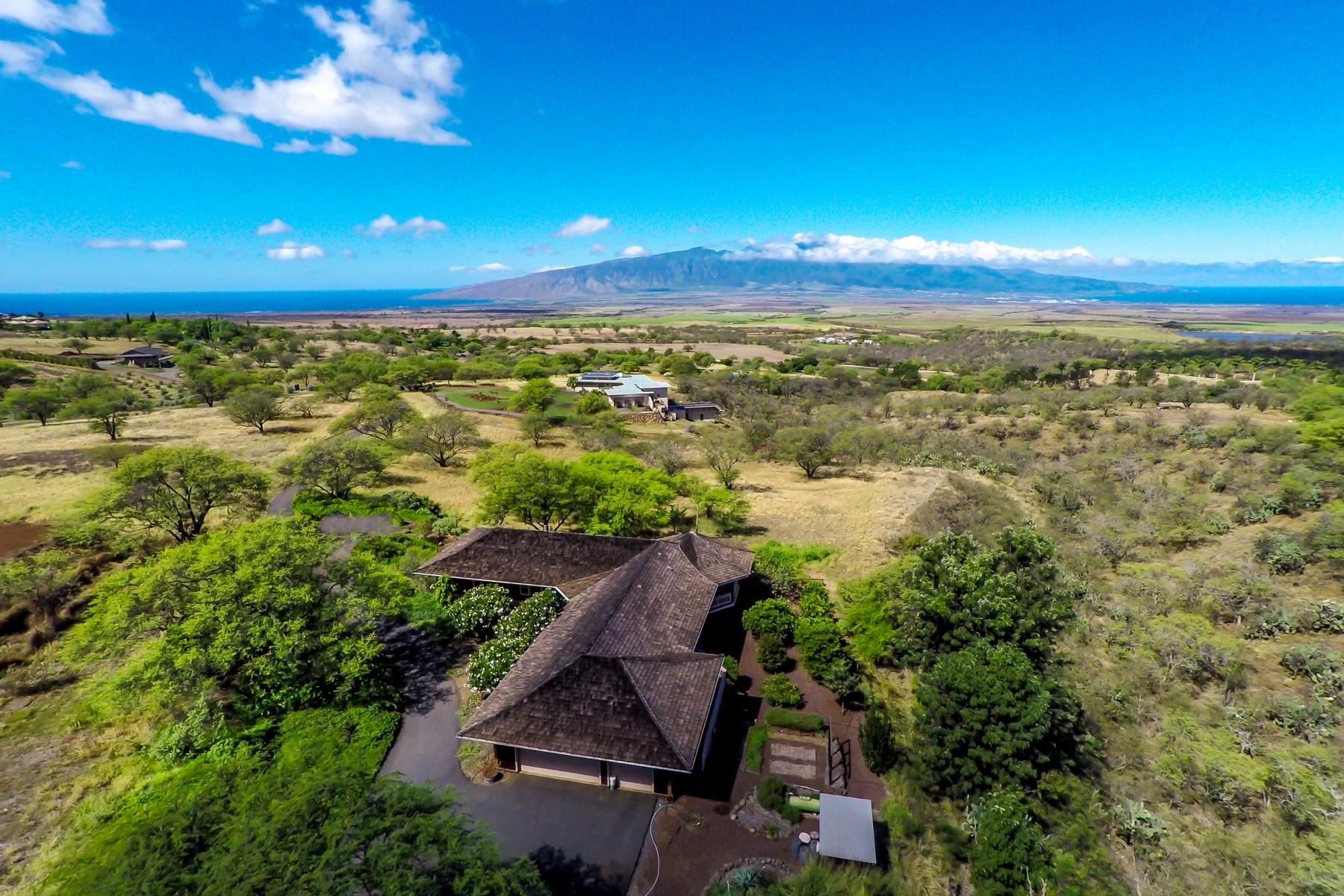 Tek Ailelik Ev için Satış at Maui Upcountry Classic Plantation Home On 6 Acres 101 Ikena Kai Place Kula, Hawaii, 96790 Amerika Birleşik Devletleri