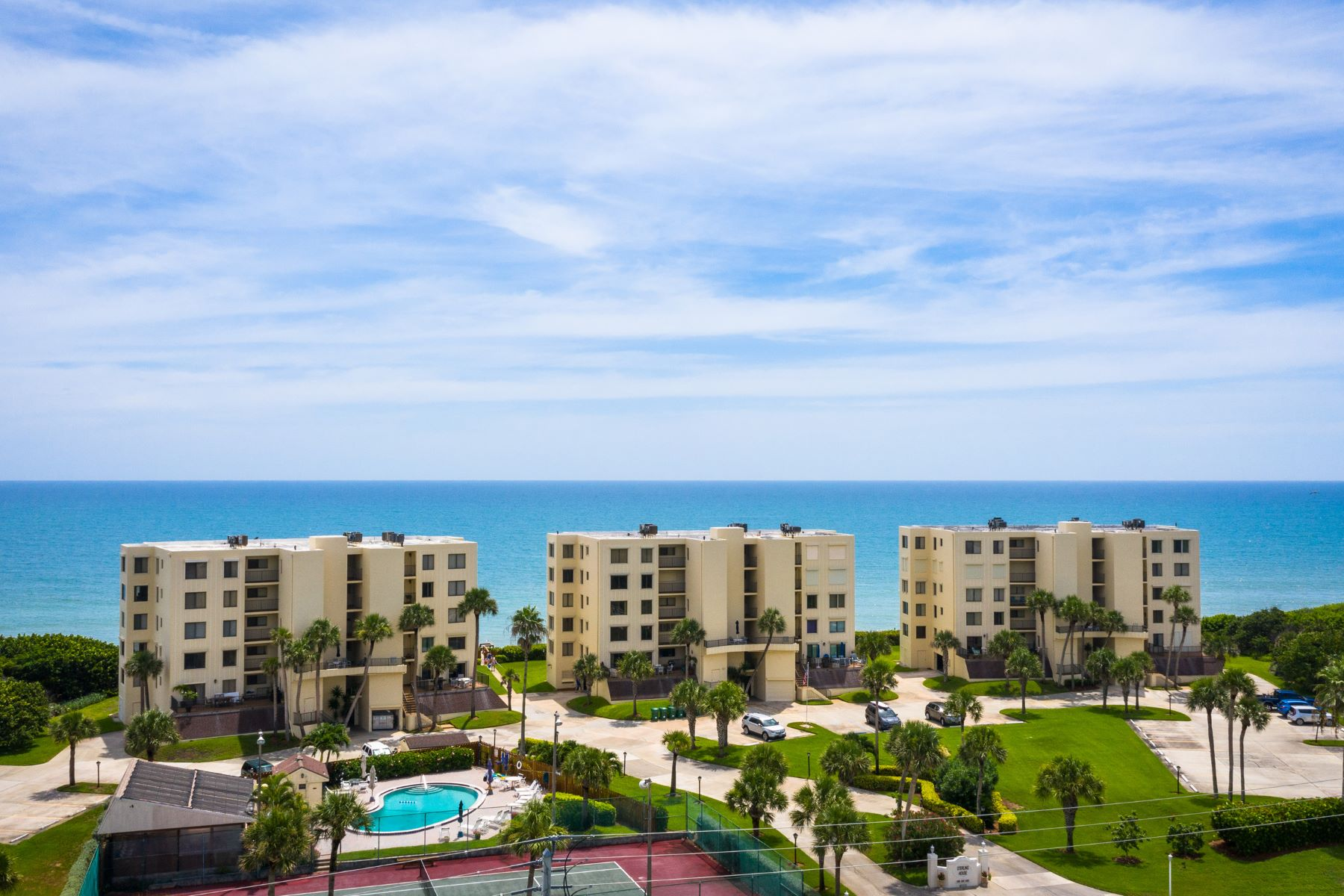 Condominiums for Sale at Impressive Direct Oceanfront Condo With Tasteful Finishes in Sterling House 6307 S Highway A1A Unit 242 Melbourne Beach, Florida 32951 United States
