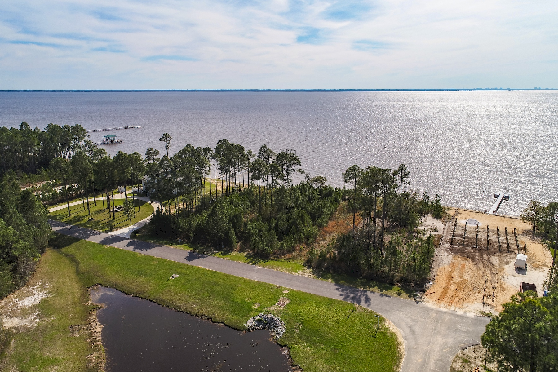 Land for Sale at 80 Feet of Bay Frontage in Quiet Neighborhood Lot 38 S Sunset Harbour, Freeport, Florida, 32439 United States