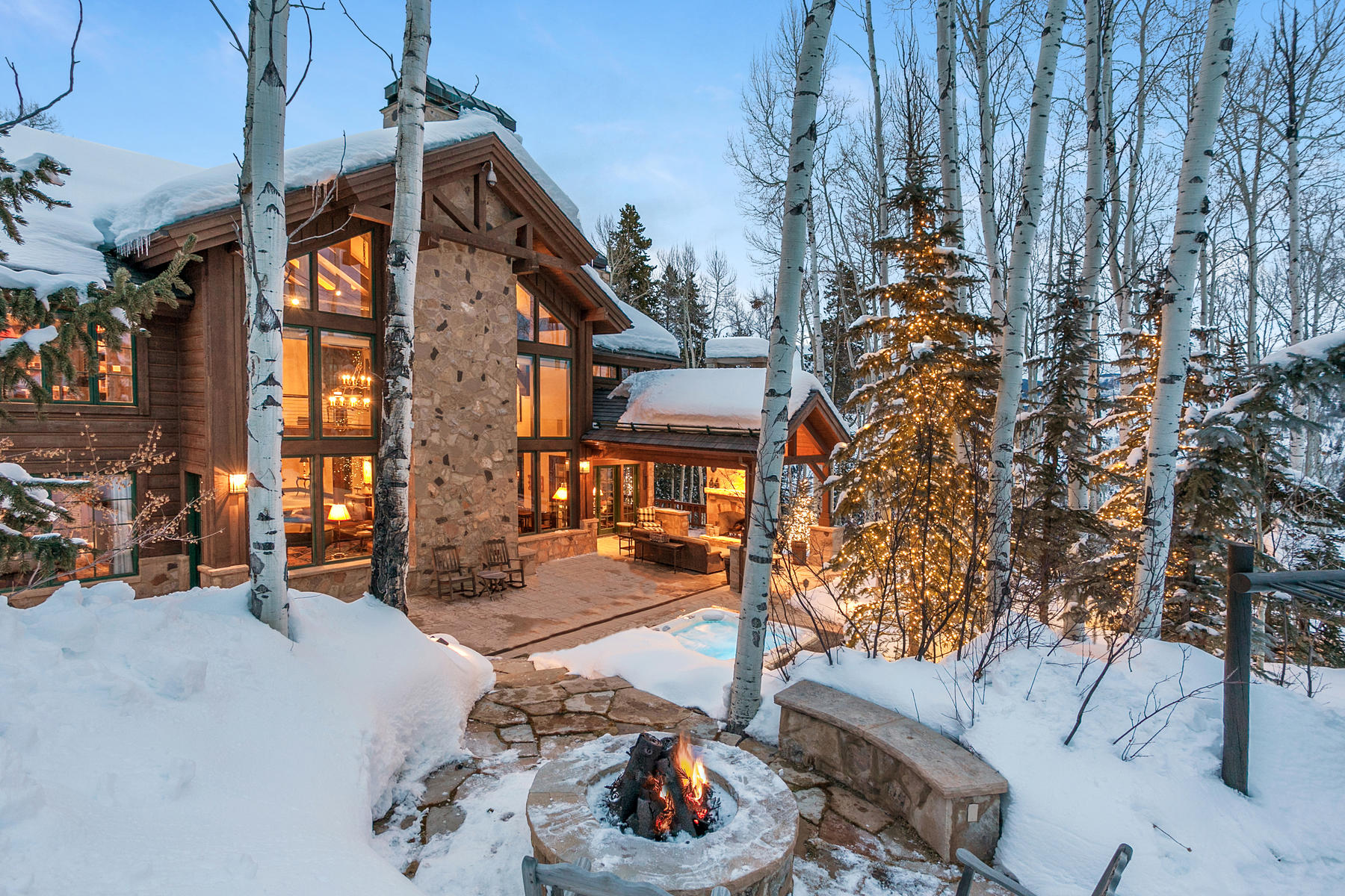 Single Family Home for Active at Strawberry Park Ski Lodge 373 Strawberry Park Beaver Creek, Colorado 81620 United States
