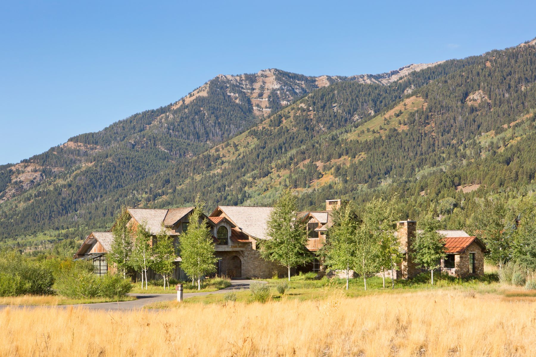 단독 가정 주택 용 매매 에 Shooting Star Home 6940 Jensen Canyon Rd Teton Village, 와이오밍, 83025 Jackson Hole, 미국