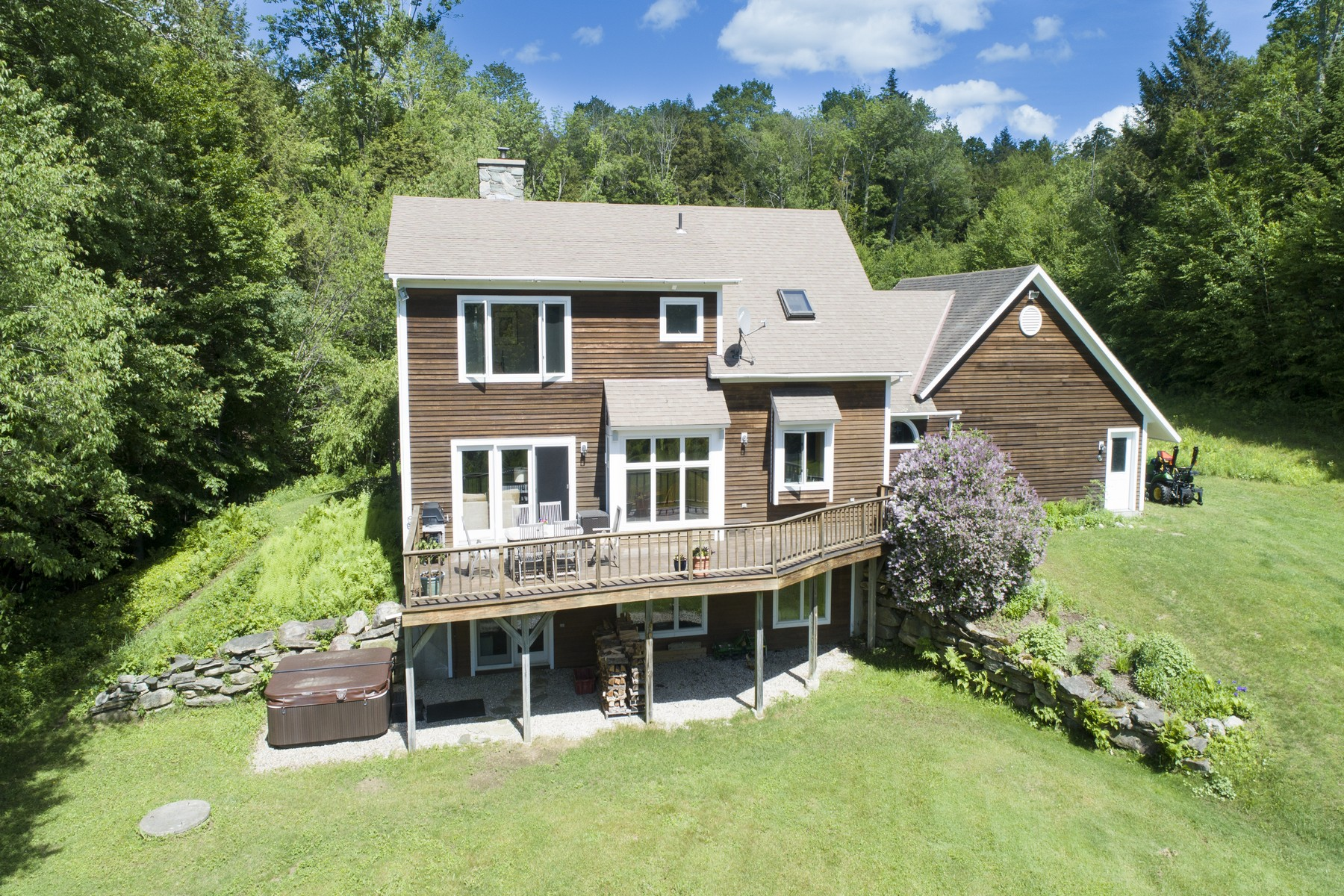 Single Family Homes for Sale at Cozy Country Getaway 143 Yaks Way Peru, Vermont 05152 United States