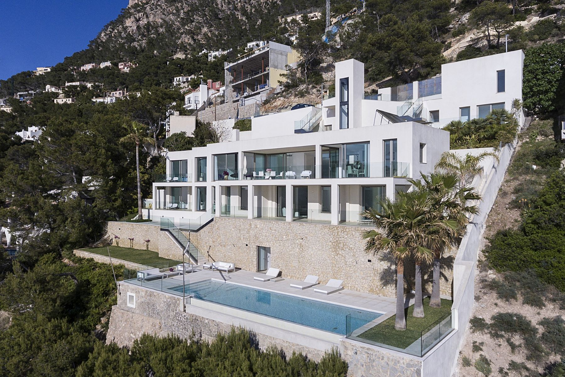 Single Family Home for Sale at Modern Villa with sea access in Port Andratx Port d Andratx, Balearic Islands Spain