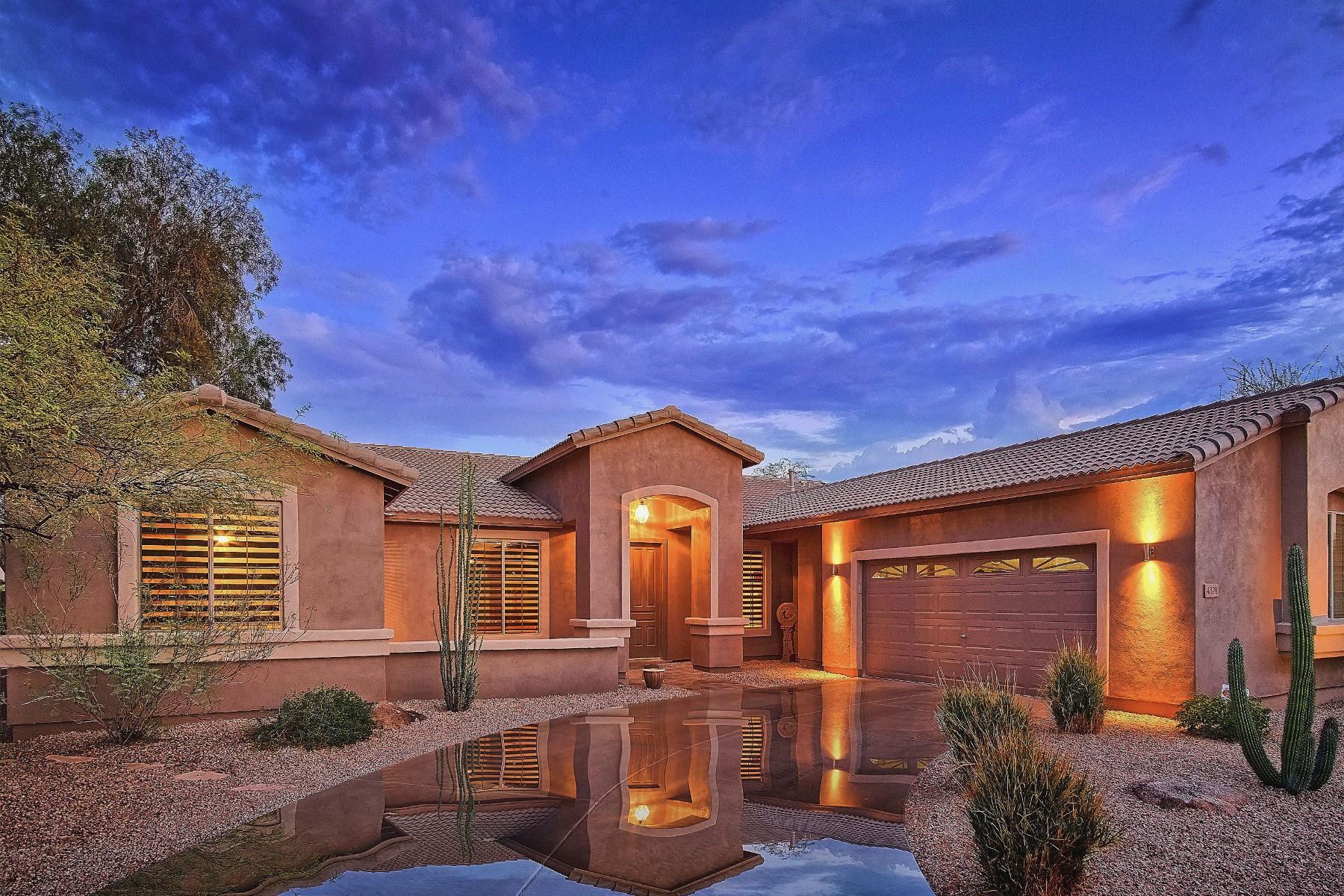 Частный односемейный дом для того Продажа на Charming Dove Valley Ranch home 4321 E Happy Coyote Trl Cave Creek, Аризона, 85331 Соединенные Штаты