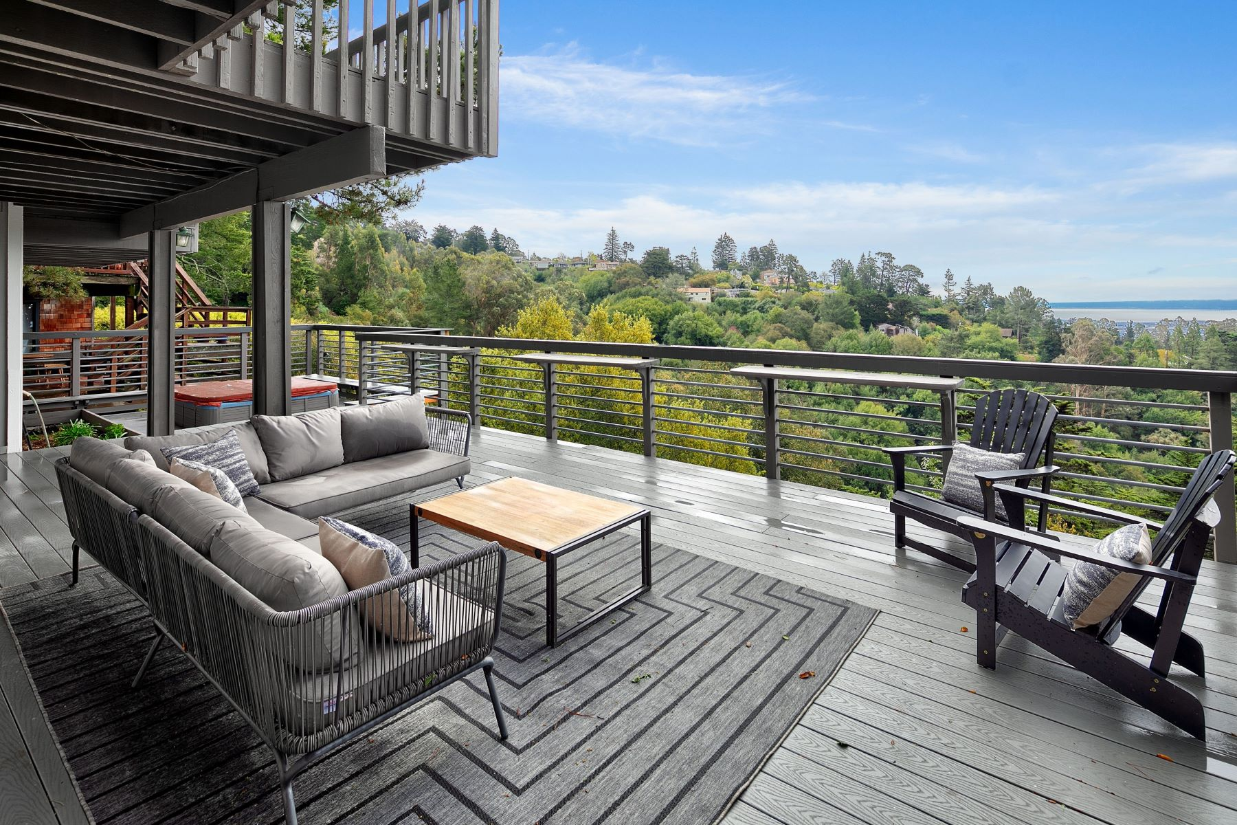 Single Family Homes for Sale at Stunning Montclair Contemporary With Spanning Views 61 Camelford Place Oakland, California 94611 United States