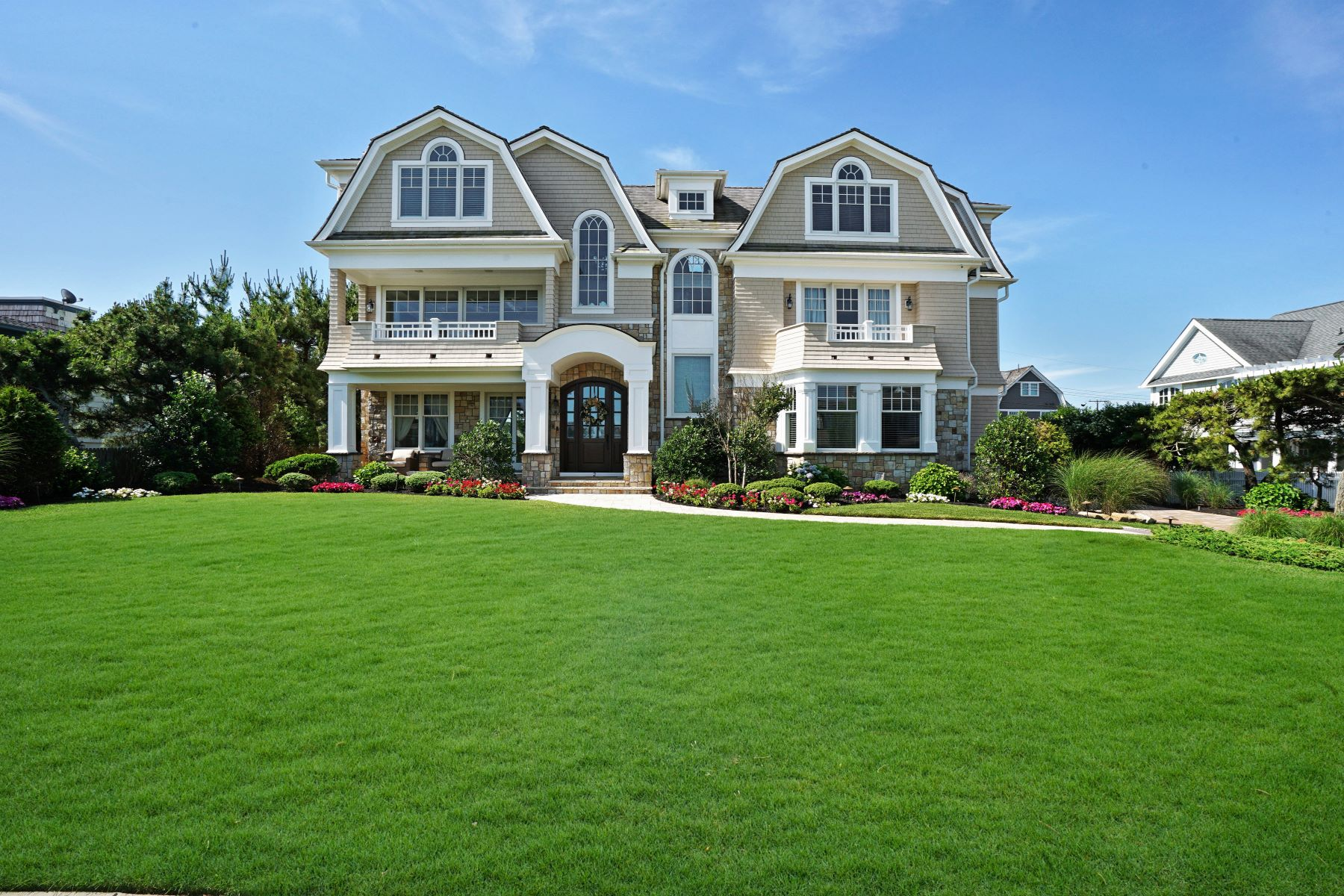Single Family Homes for Sale at Perfection Knows No Boundaries 2 Neptune Place Sea Girt, New Jersey 08750 United States