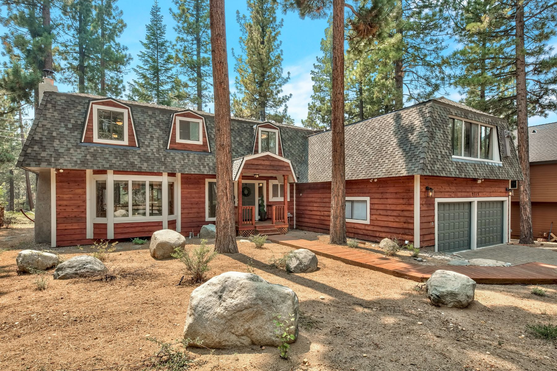 Single Family Homes for Active at Mountain Gem Backing Forest 2115 Marshal Trail South Lake Tahoe, California 96150 United States