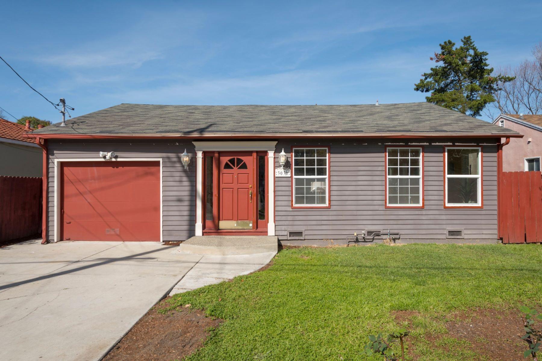 独户住宅 为 销售 在 Selby Park Home 3031 Glendale Avenue, 雷德伍德城, 加利福尼亚州, 94063 美国