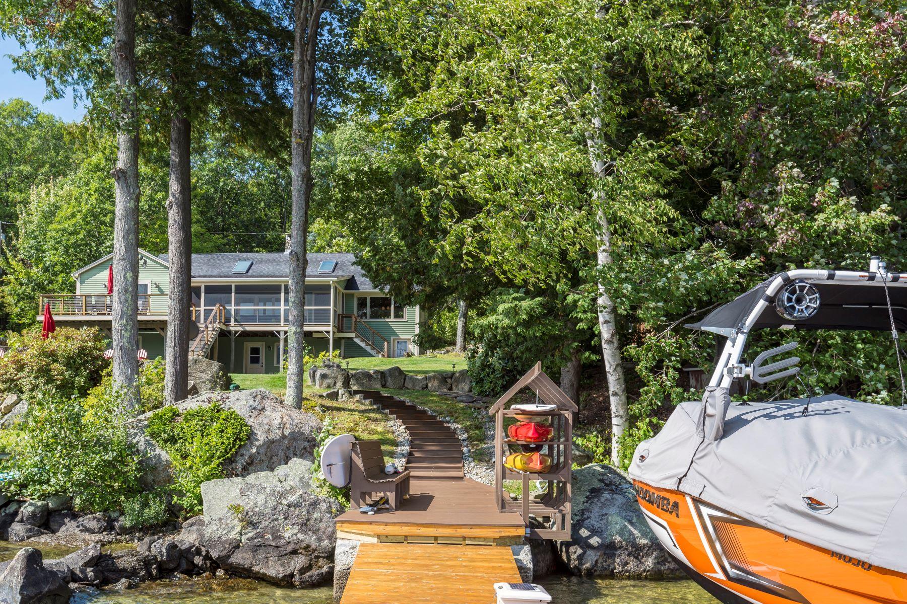 Single Family Homes pour l Vente à 21 Lakewood Manor Road, Newbury 21 Lakewood Manor Rd Newbury, New Hampshire 03255 États-Unis