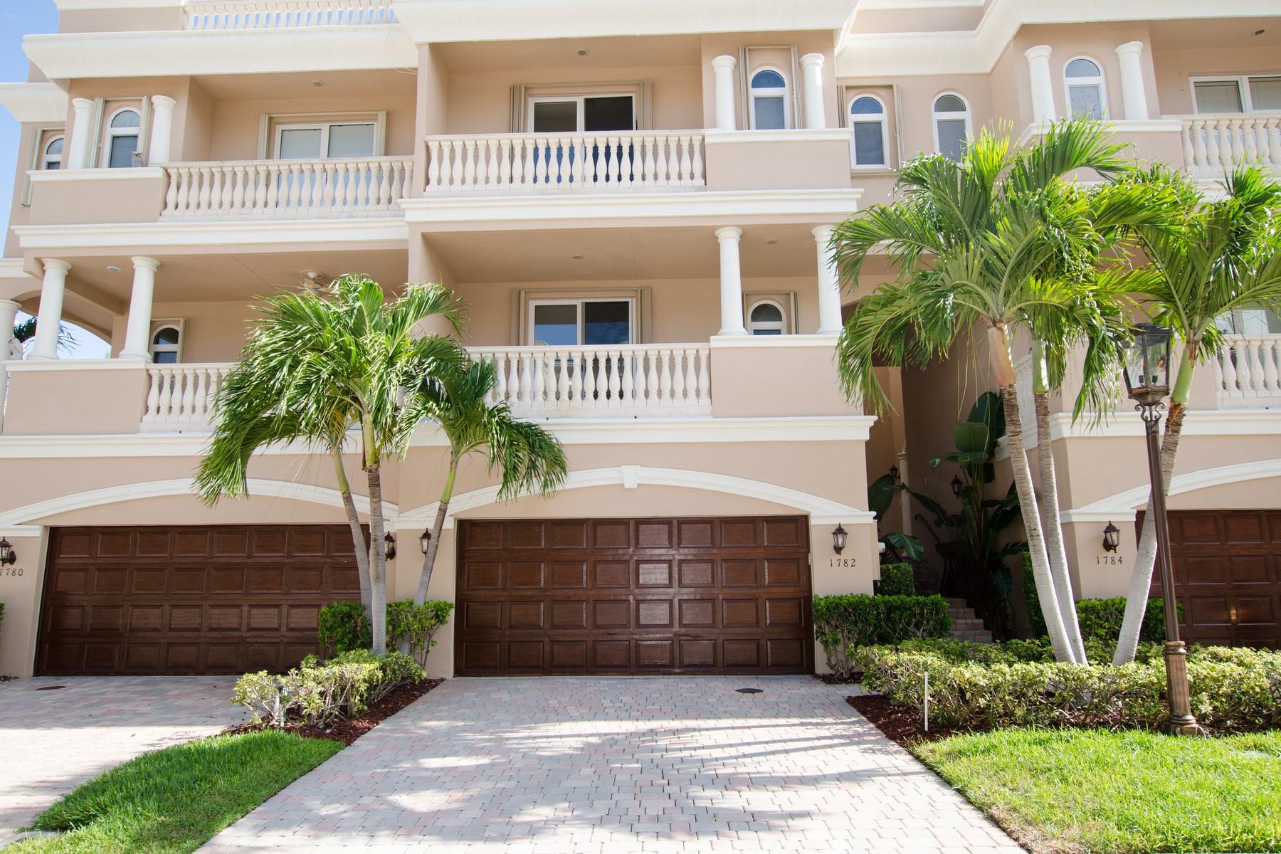 Maison accolée pour l Vente à 1782 Bay Dr, Pompano, FL 33062 1782 Bay Dr Pompano Beach, Florida 33062 États-Unis