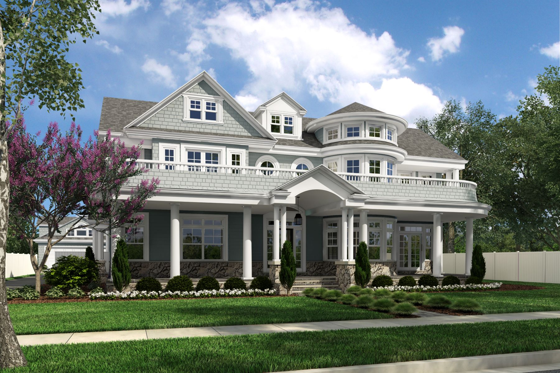 Single Family Homes for Sale at Extraordinary Ocean Views 10 Lorraine Avenue Spring Lake, New Jersey 07762 United States