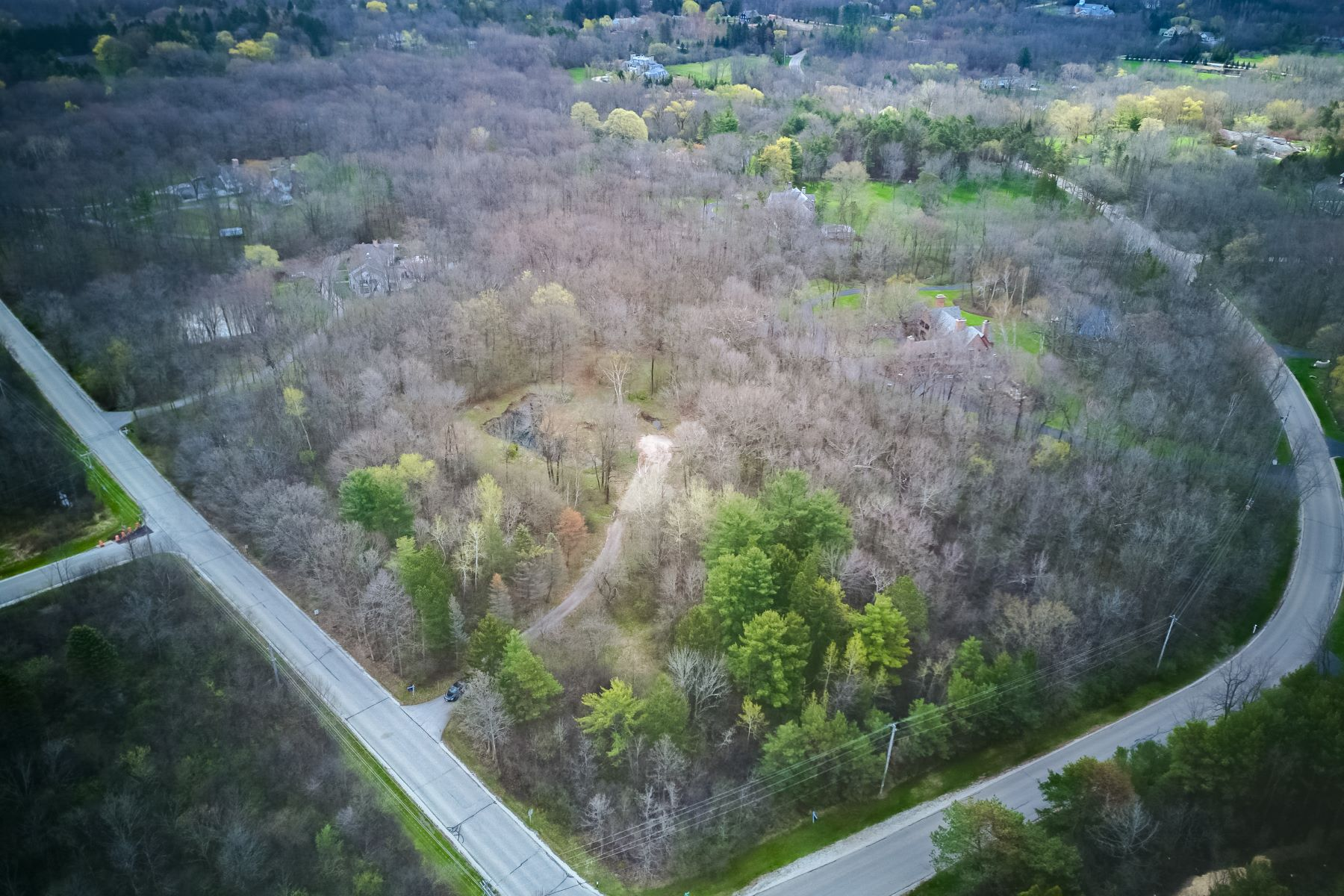 Land for Active at Expansive Vacant Lot In River Hills 1745 W Dean Rd River Hills, Wisconsin 53217 United States
