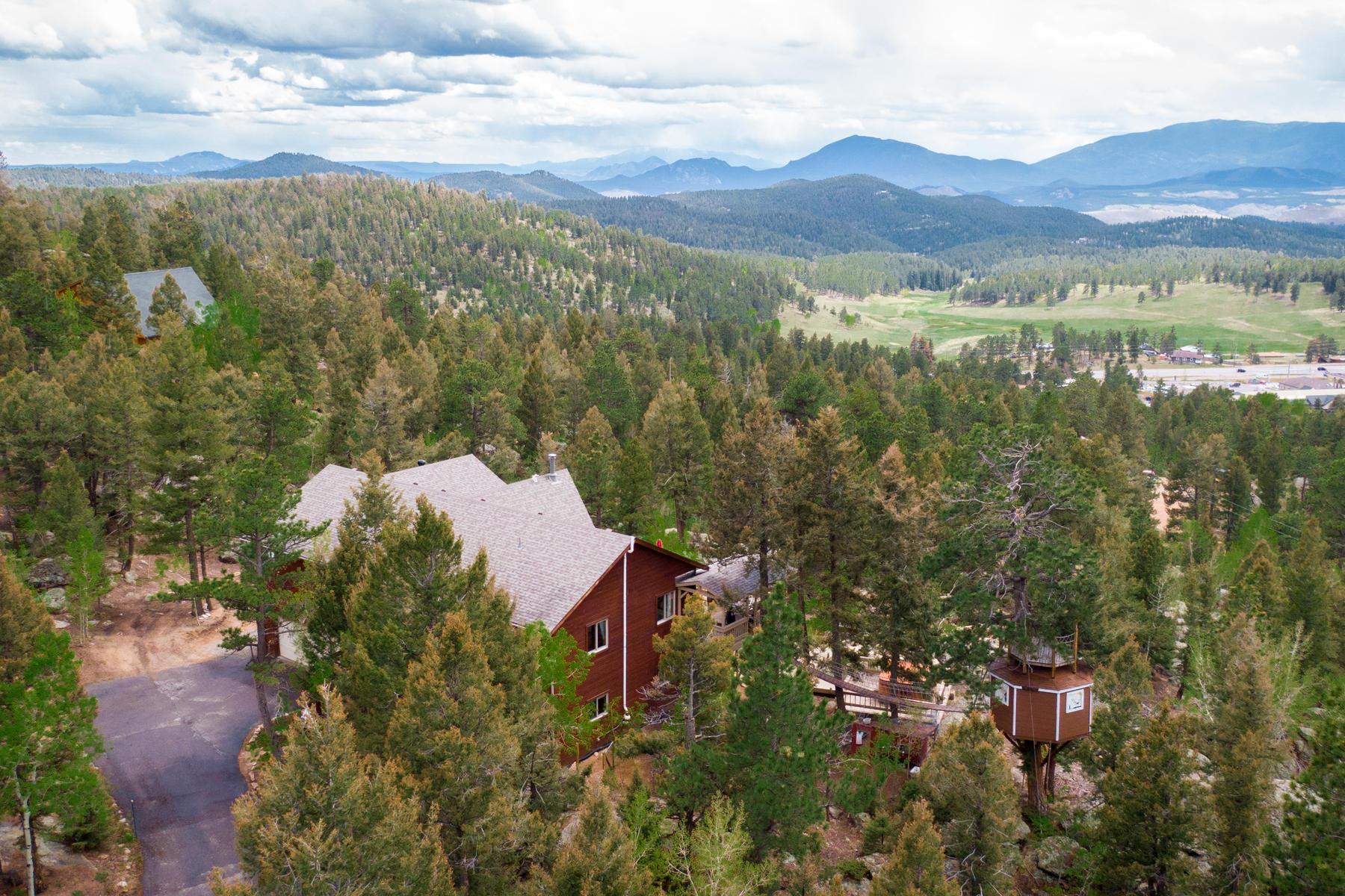 Single Family Homes for Active at Outdoor Paradise with Expansive Views 12075 Mauff Way Conifer, Colorado 80433 United States