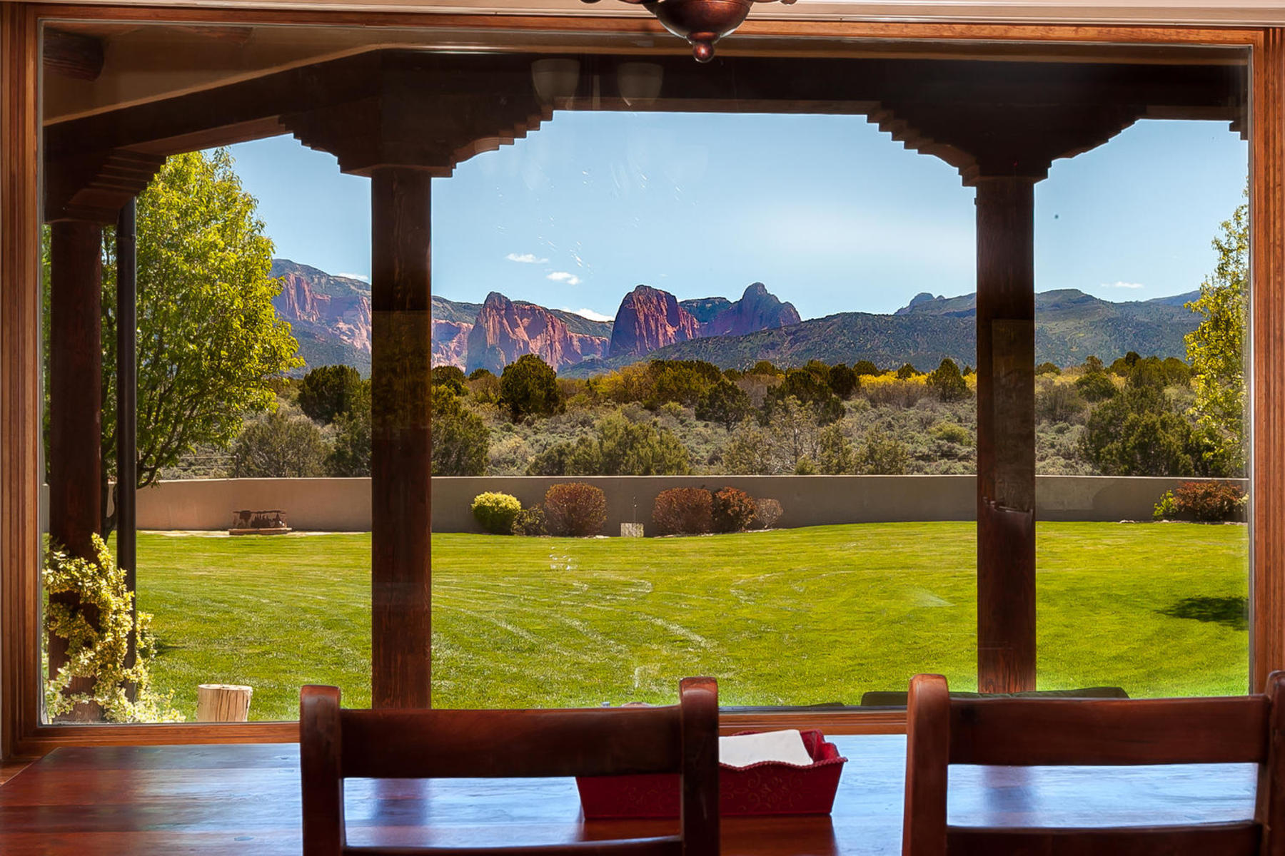 Farm / Ranch / Plantation for Active at Equestrian Paradise with Zion's Kolob Canyon Views 755 South 1500 East New Harmony, Utah 84757 United States
