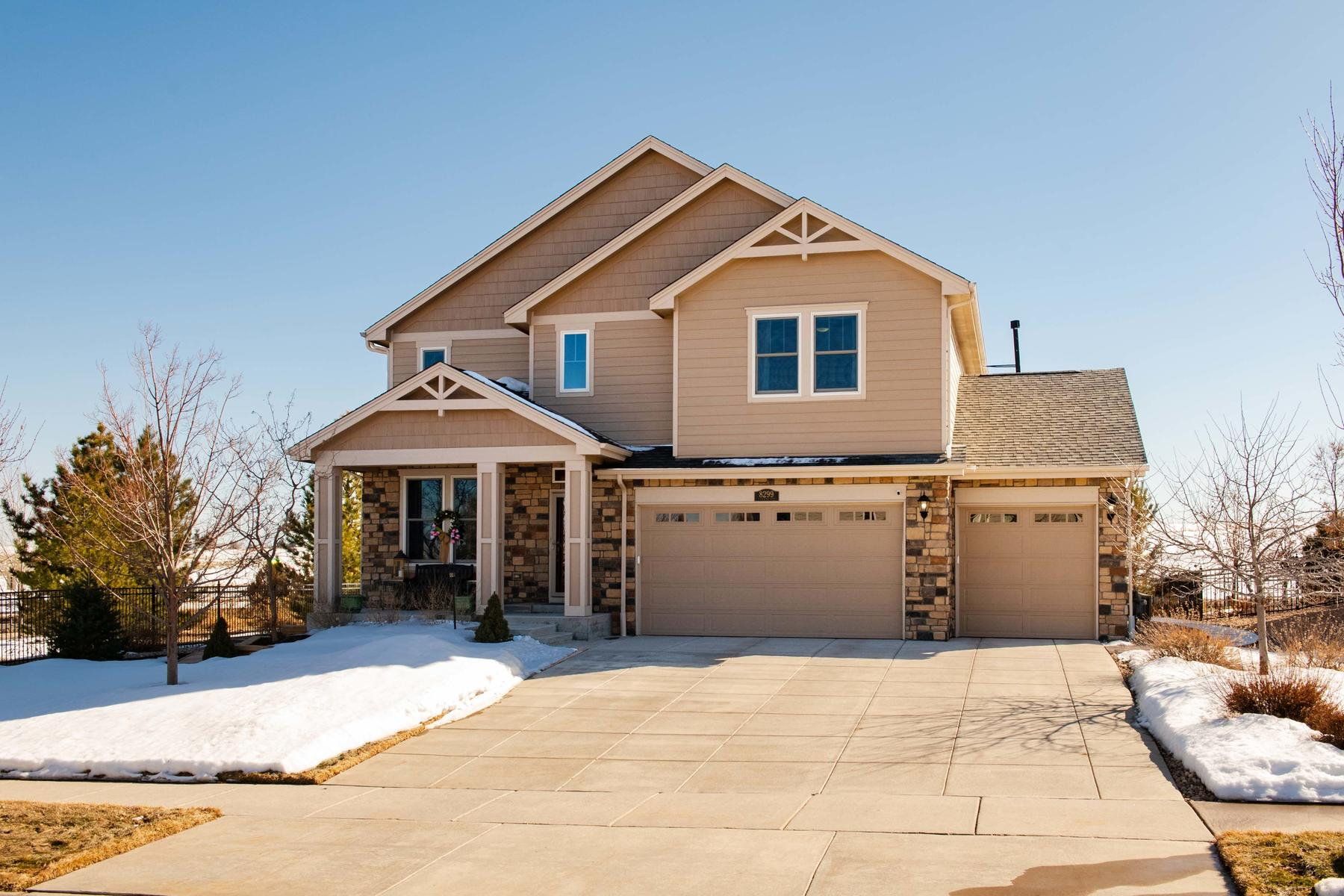 Single Family Homes for Sale at Now is Your Chance to Live in Coveted Blackstone Country Club 8299 S Country Club Parkway, Aurora, Colorado 80016 United States