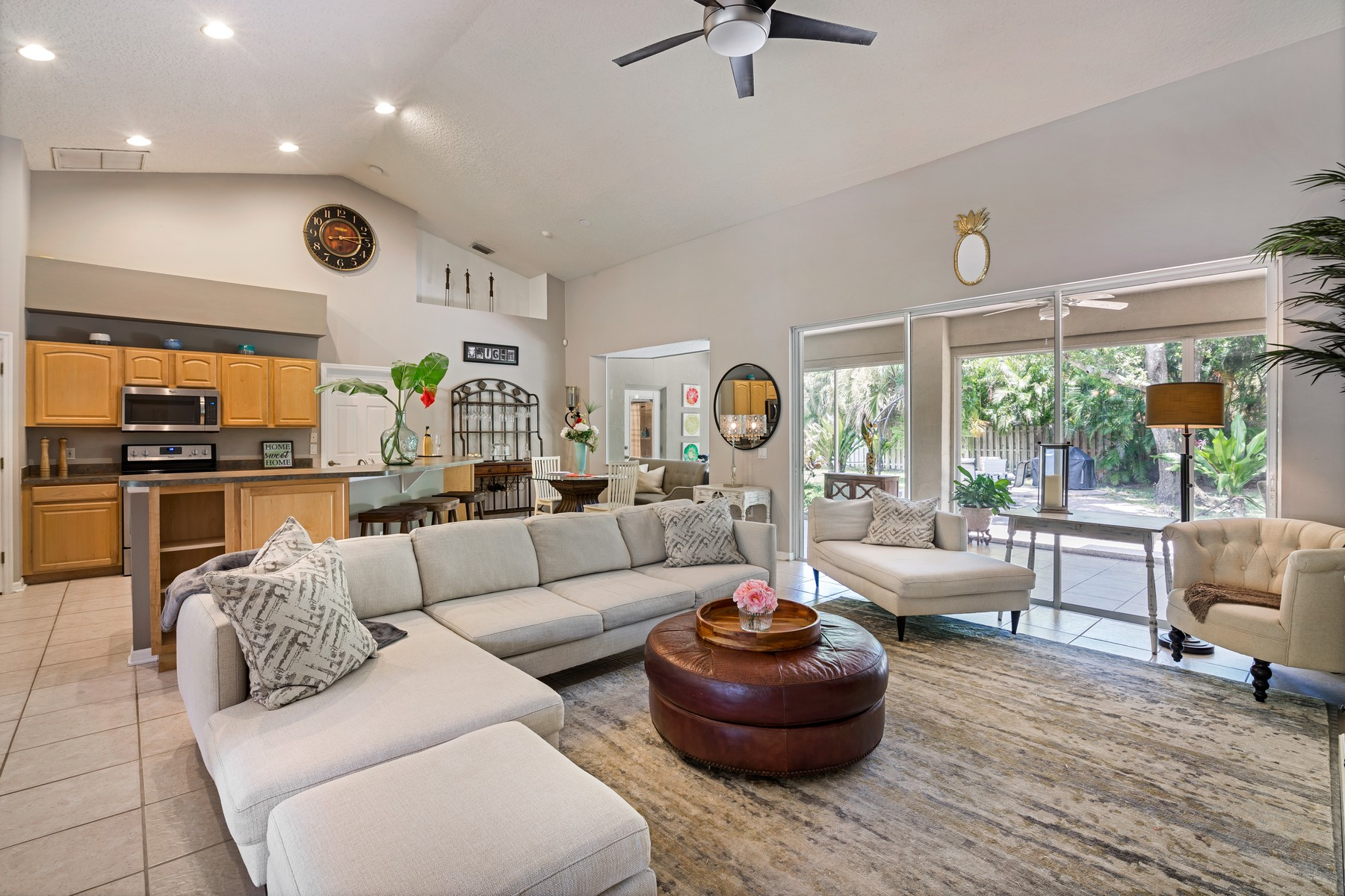 Additional photo for property listing at Your Tropical Oasis Awaits! 3828 S Tropical Trail Merritt Island, Florida 32952 United States