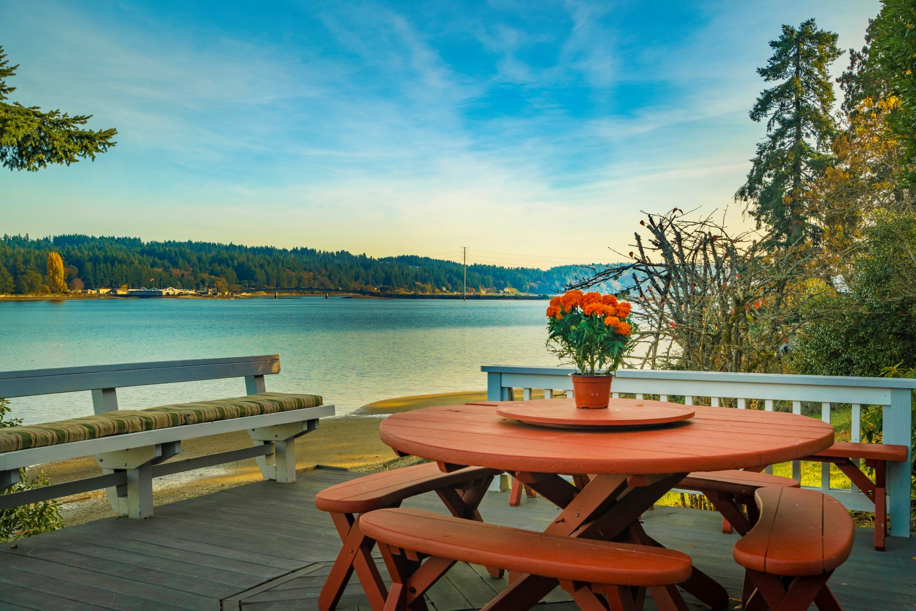Single Family Homes for Sale at Waterfront Retreat Home 14703 Goodrich Drive NW, Gig Harbor, Washington 98329 United States