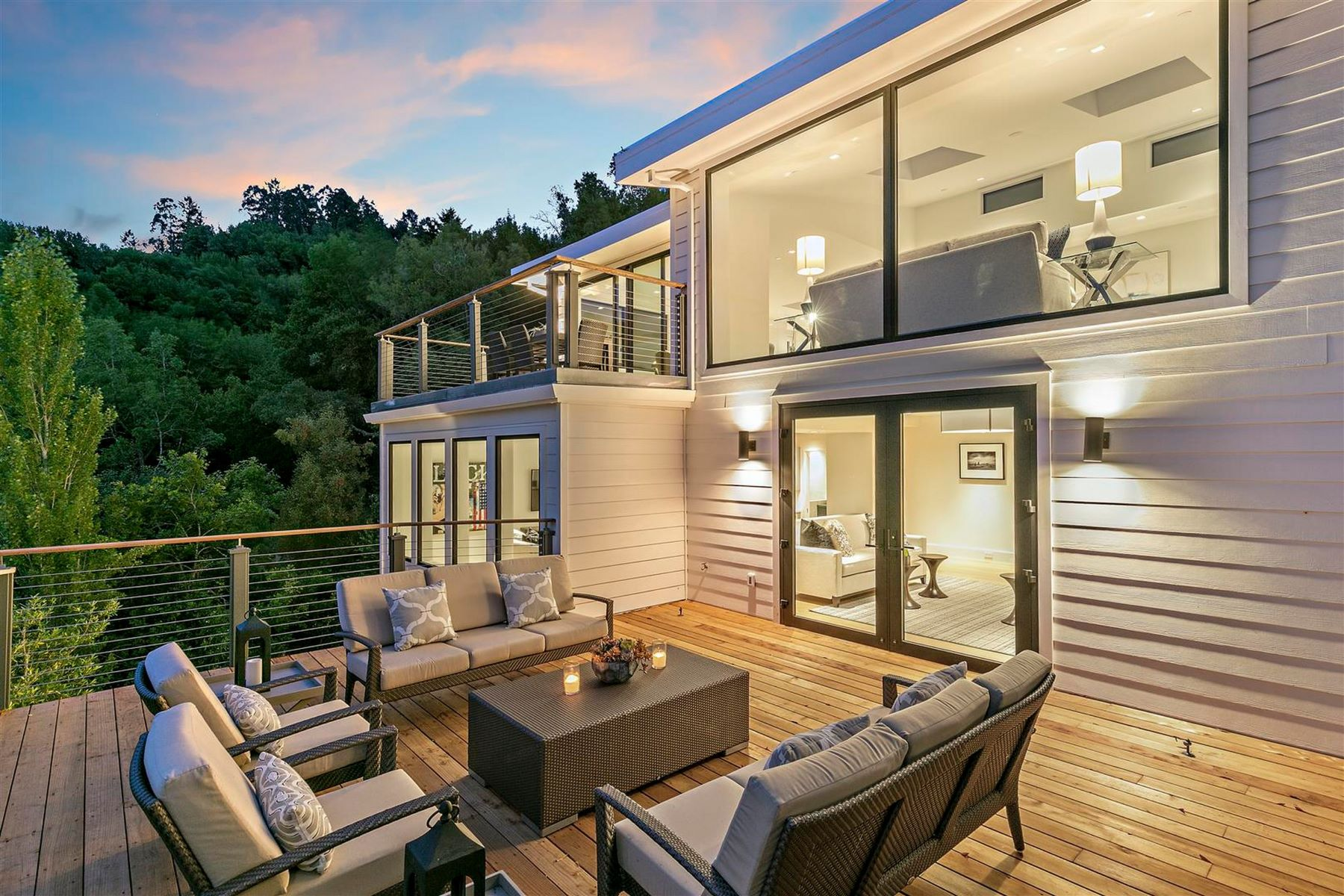 Single Family Homes のために 売買 アット Stunning Mill Valley Modern 471 Live Oak Drive, Mill Valley, カリフォルニア 94941 アメリカ