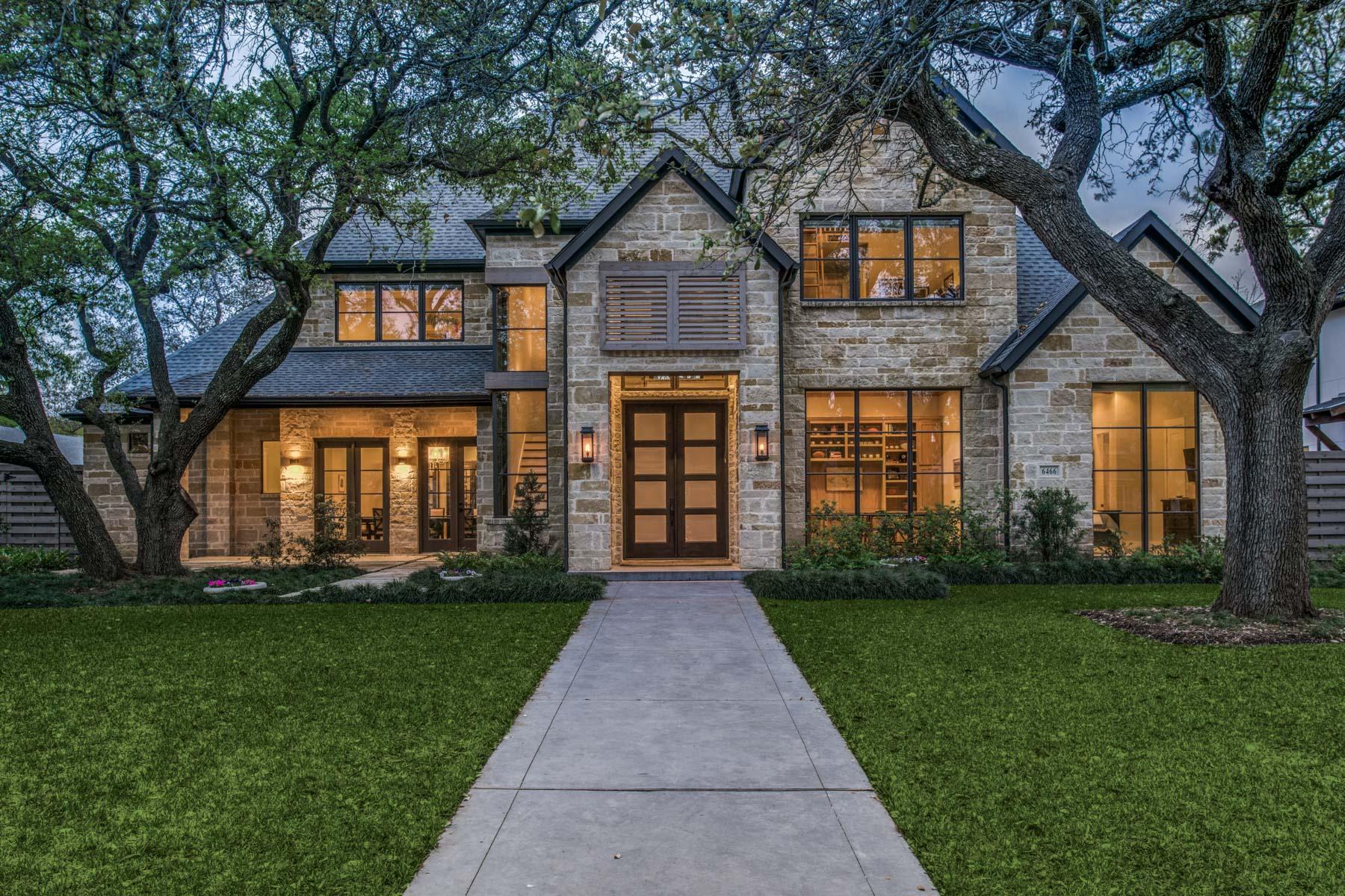 独户住宅 为 销售 在 Phenomenal Preston Hollow Contemporary 6466 Orchid Lane, 达拉斯, 得克萨斯州, 75230 美国