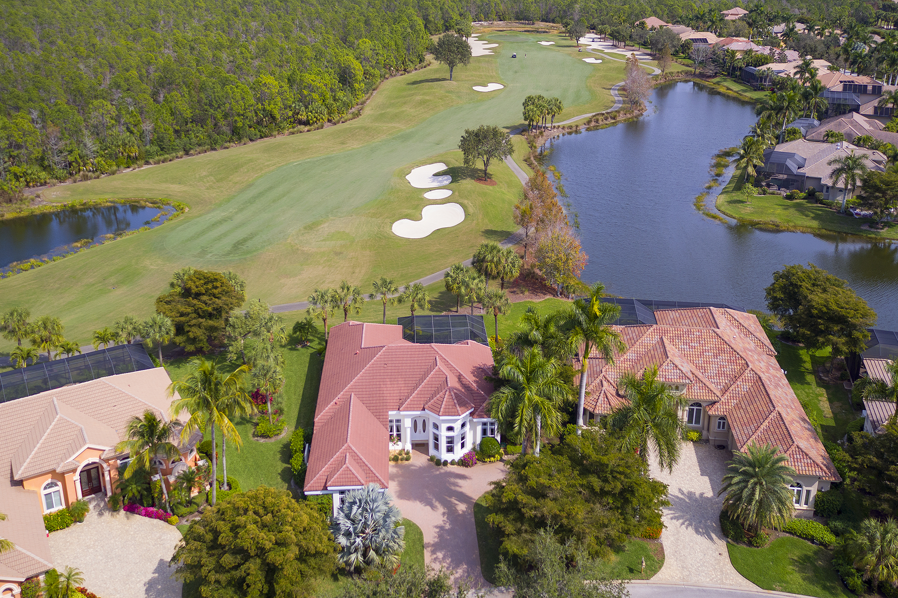 Single Family Homes için Satış at SHADOW WOOD AT THE BROOKS - FAIRVIEW 22251 Fairview Bend Drive, Estero, Florida 34135 Amerika Birleşik Devletleri