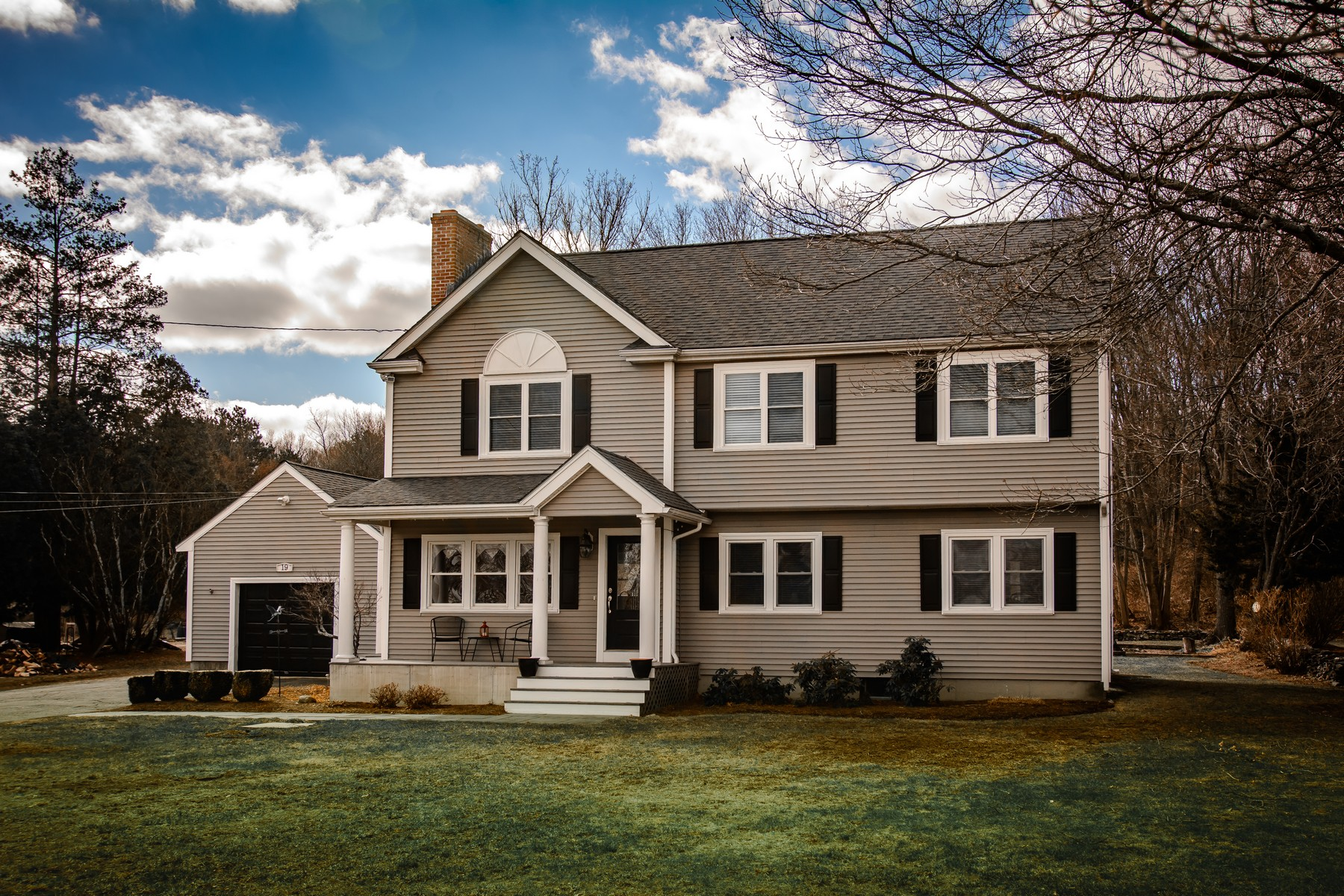 Single Family Home for Sale at Charming Garrison Colonial 19 Warren Street Westborough, Massachusetts 01581 United States