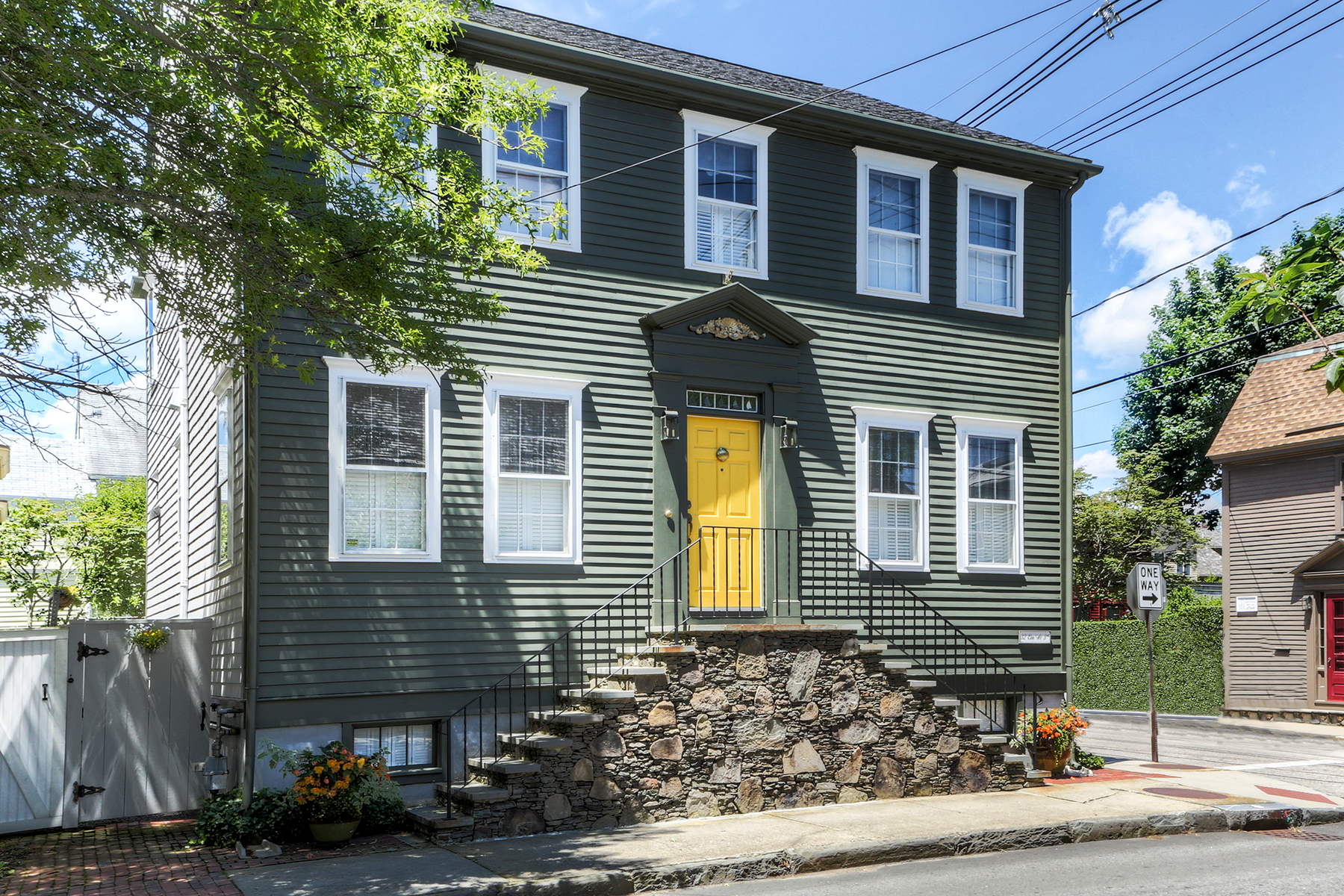 Single Family Home for Sale at The Point 32 Elm Street Newport, Rhode Island 02840 United States