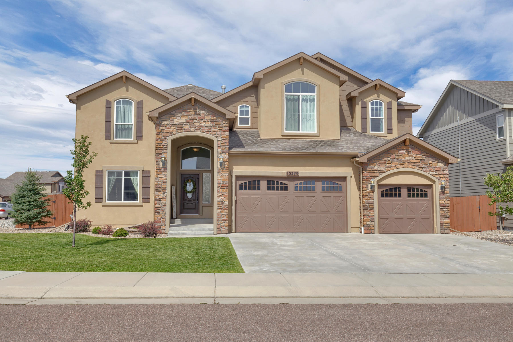 Single Family Home for Active at Mt Lincoln 10249 Mt Lincoln Drive Peyton, Colorado 80831 United States