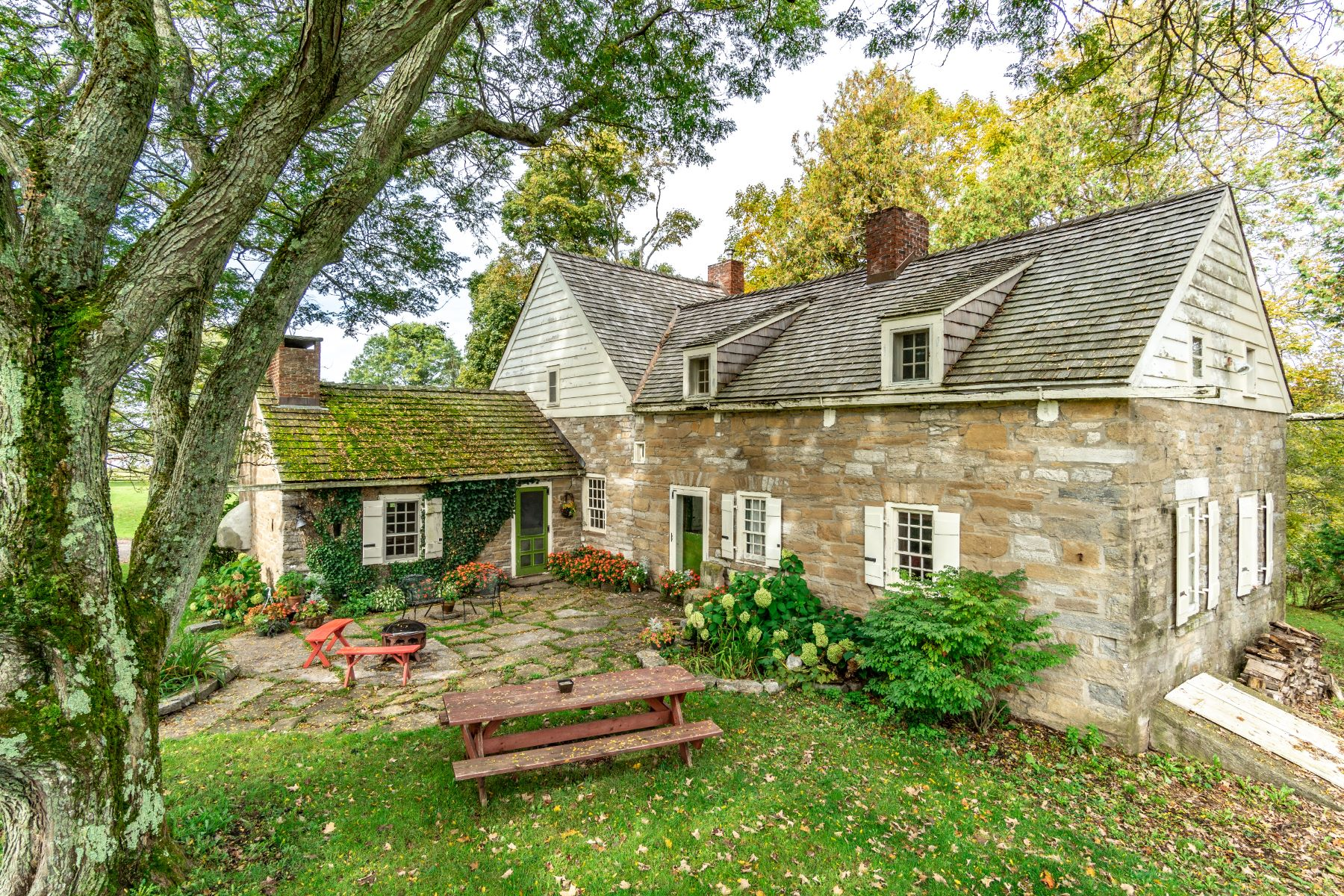 Single Family Homes for Active at Idyllic Brower Farmstead Estate 844 Hickory Hill Rd Fort Plain, New York 13339 United States