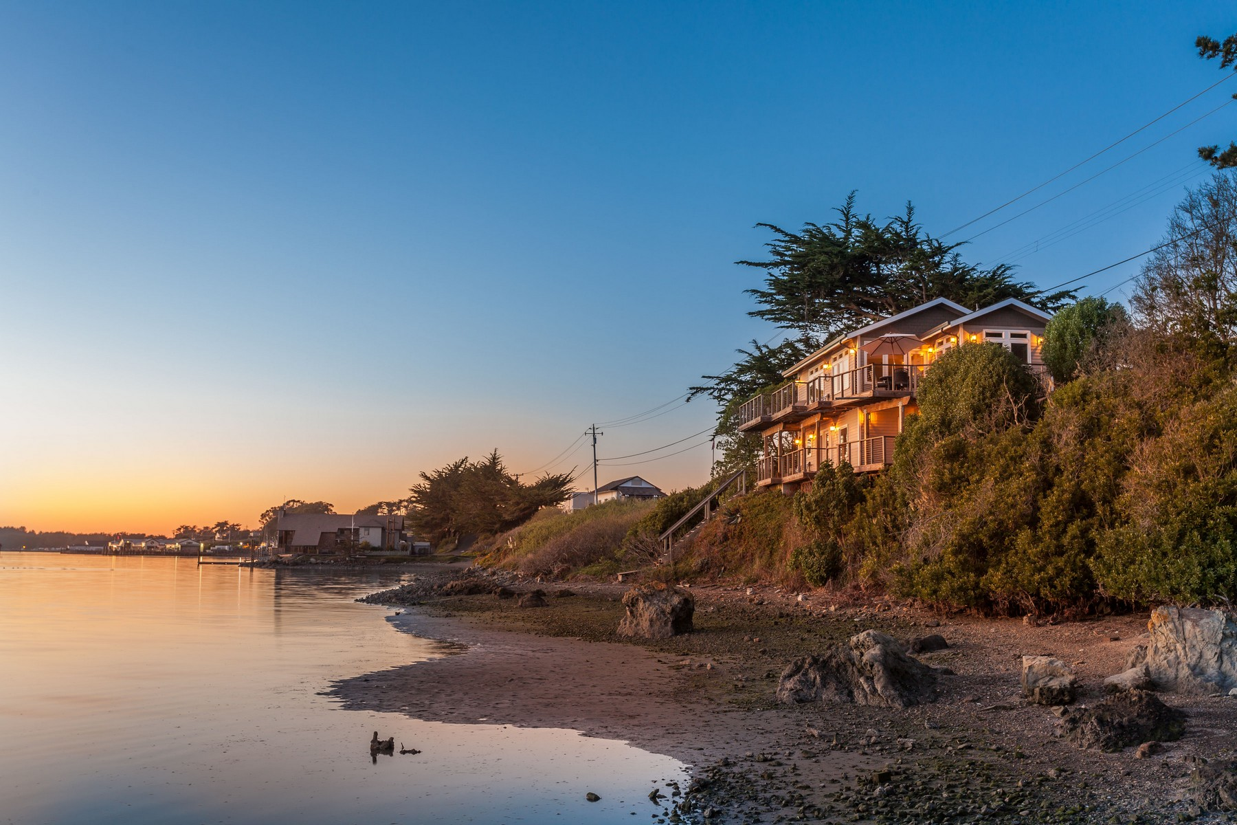Single Family Home for Sale at Bird Watch Estate 529 Smith Brothers Road Bodega Bay, California 94923 United States
