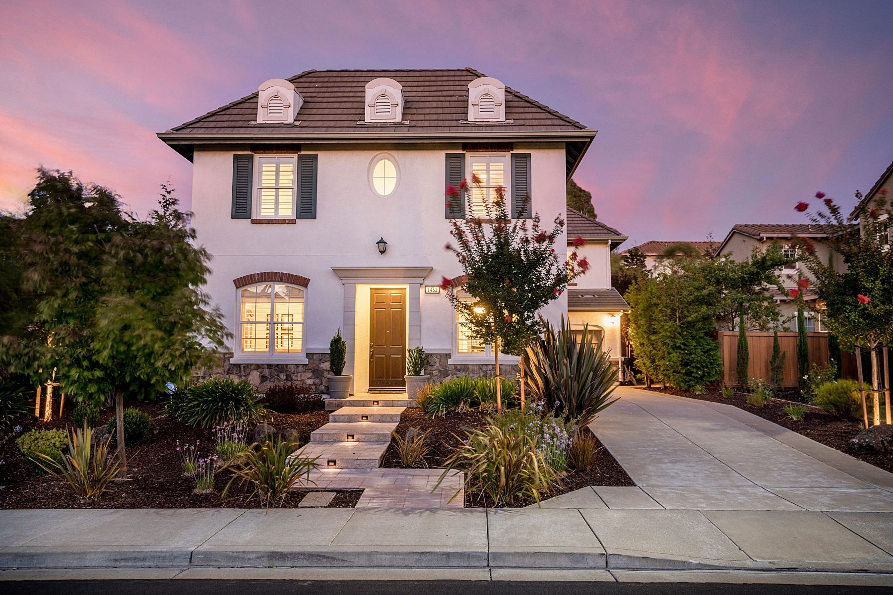 Single Family Homes for Sale at Monterosso Gem 1453 Menton Street Danville, California 94506 United States