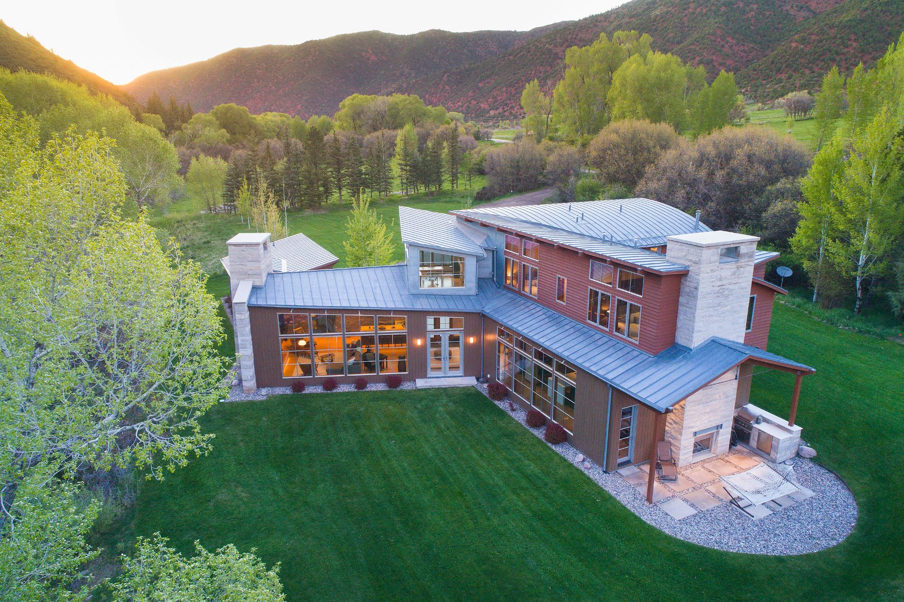 Single Family Homes por un Venta en Riverfront Masterpiece 2556 Lower River Road, Snowmass, Colorado 81654 Estados Unidos