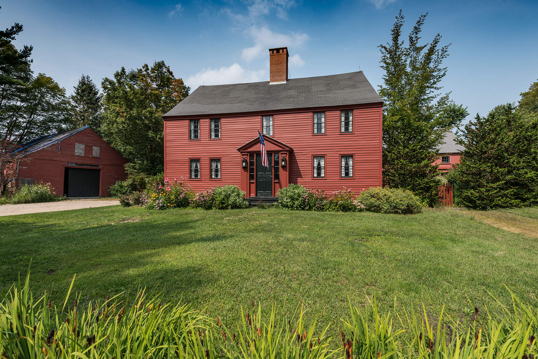 Single Family Home for Sale at Aristocratic Colonial in York 5 Grove Road Rye, New Hampshire 03870 United States