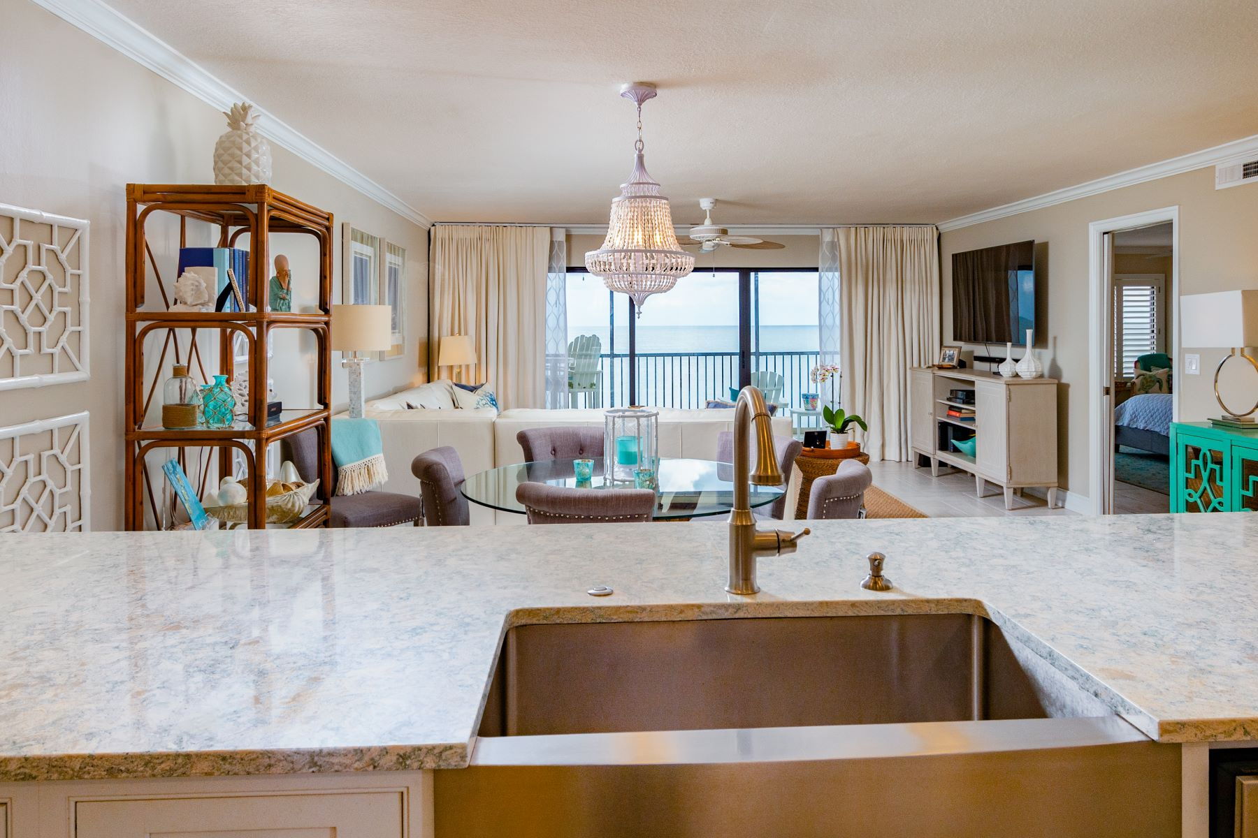Condominium for Sale at Impressive Direct Oceanfront Condo With Tasteful Finishes in Sterling House 6307 S Highway A1A Unit 242 Melbourne Beach, Florida 32951 United States