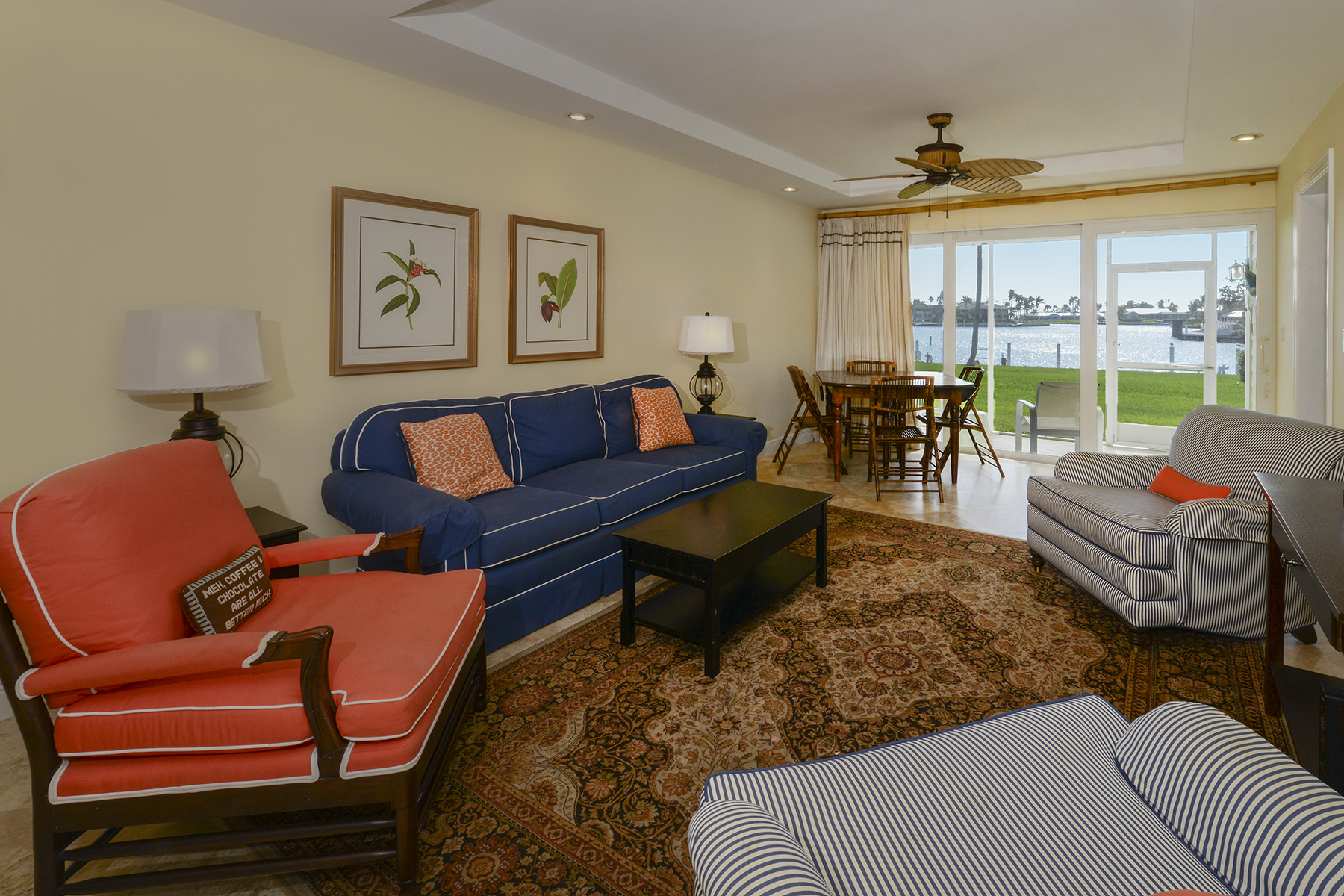 Additional photo for property listing at Spacious Waterfront Getaway at Ocean Reef 45 Anchor Drive, Unit A Key Largo, Florida 33037 Amerika Birleşik Devletleri