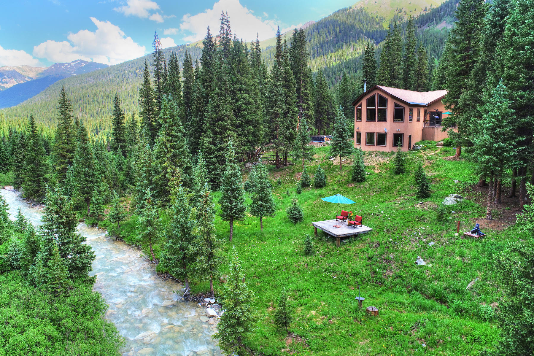 Single Family Homes for Sale at Defiane Mill Site 6512 Montezuma Road Keystone, Colorado 80435 United States