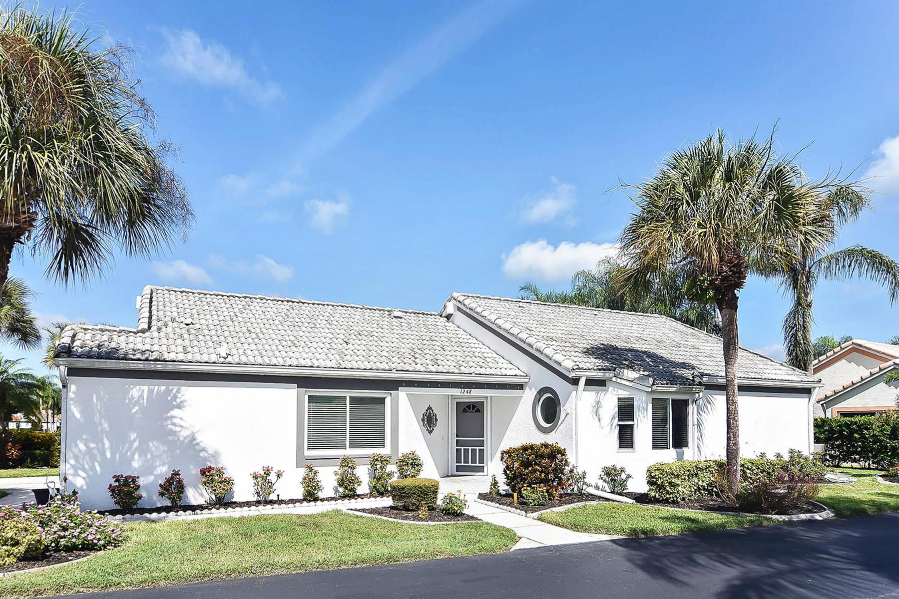 Property のために 売買 アット PALM VILLAS 1248 Capri Isles Blvd , 53, ベニス, フロリダ 34292 アメリカ
