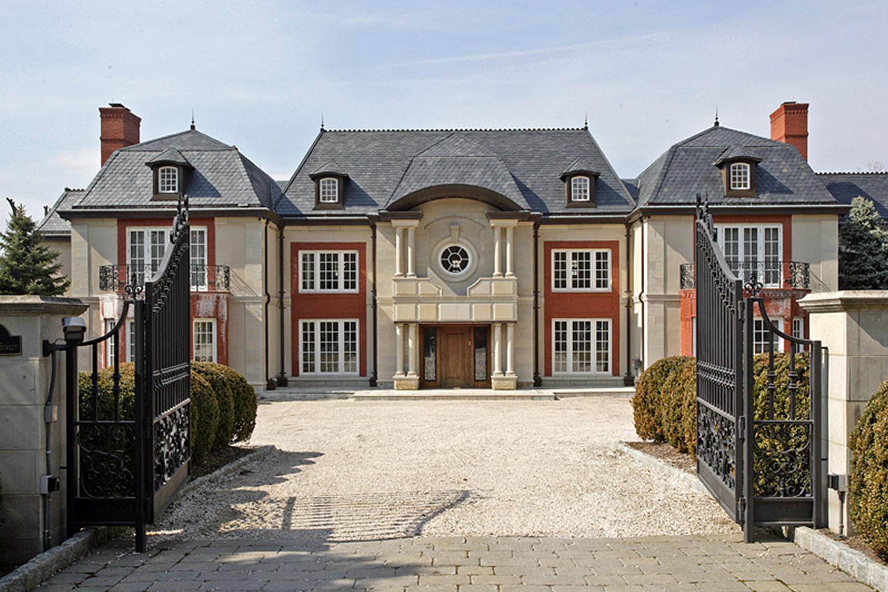 Частный односемейный дом для того Продажа на Palatial Estate 120 S Woodland St, Englewood, Нью-Джерси 07631 Соединенные Штаты