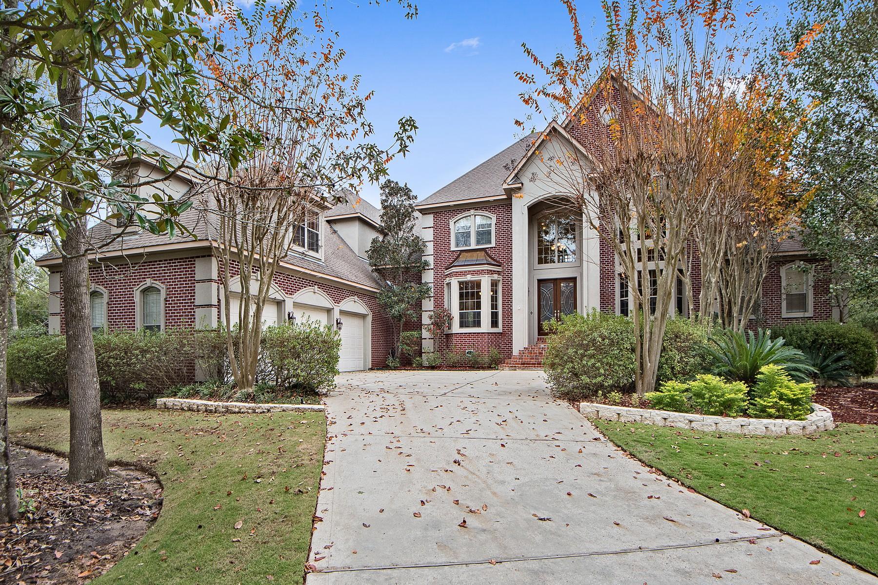 Maison unifamiliale pour l Vente à 28 Eagle Trace Mandeville, Louisiana, 70471 États-Unis