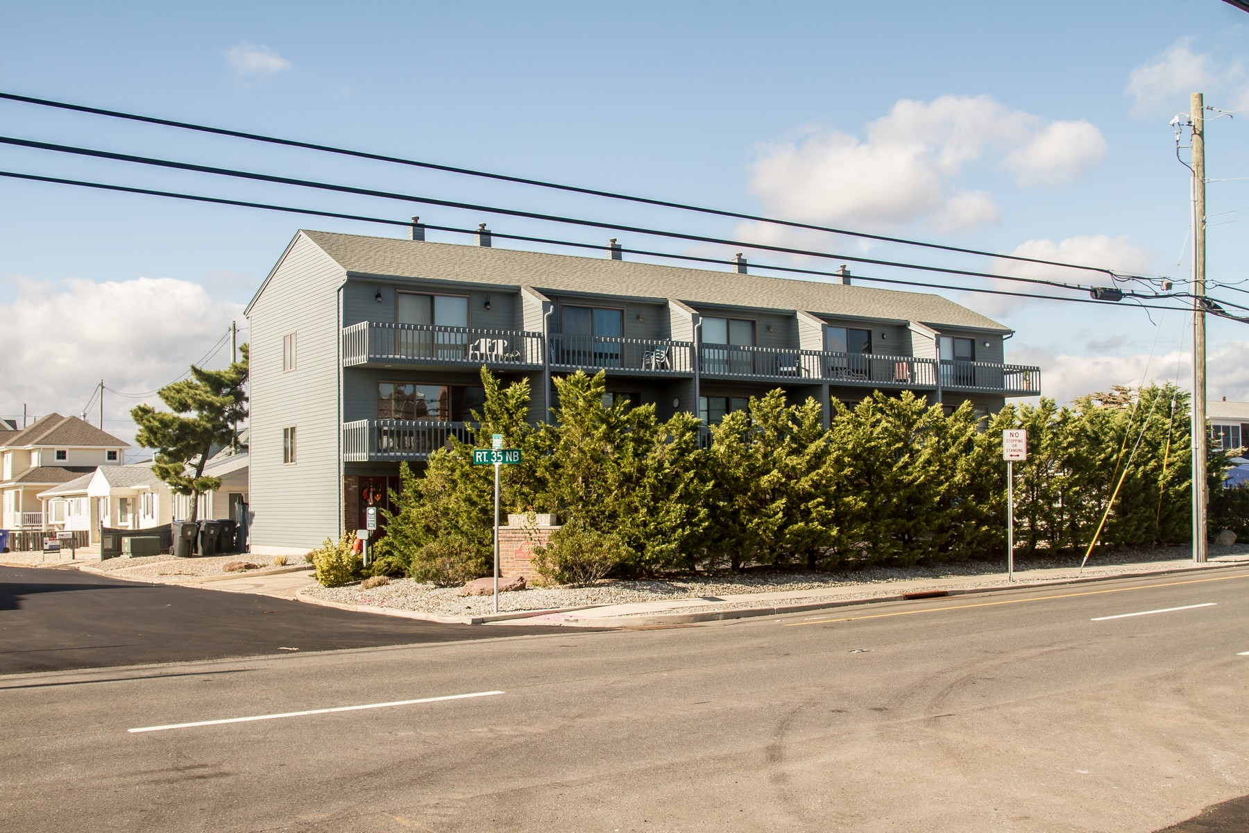 Townhouse for Sale at Large Townhouse Only One Block To The Beach 3575-4 Route 35 N, Lavallette, New Jersey 08735 United States