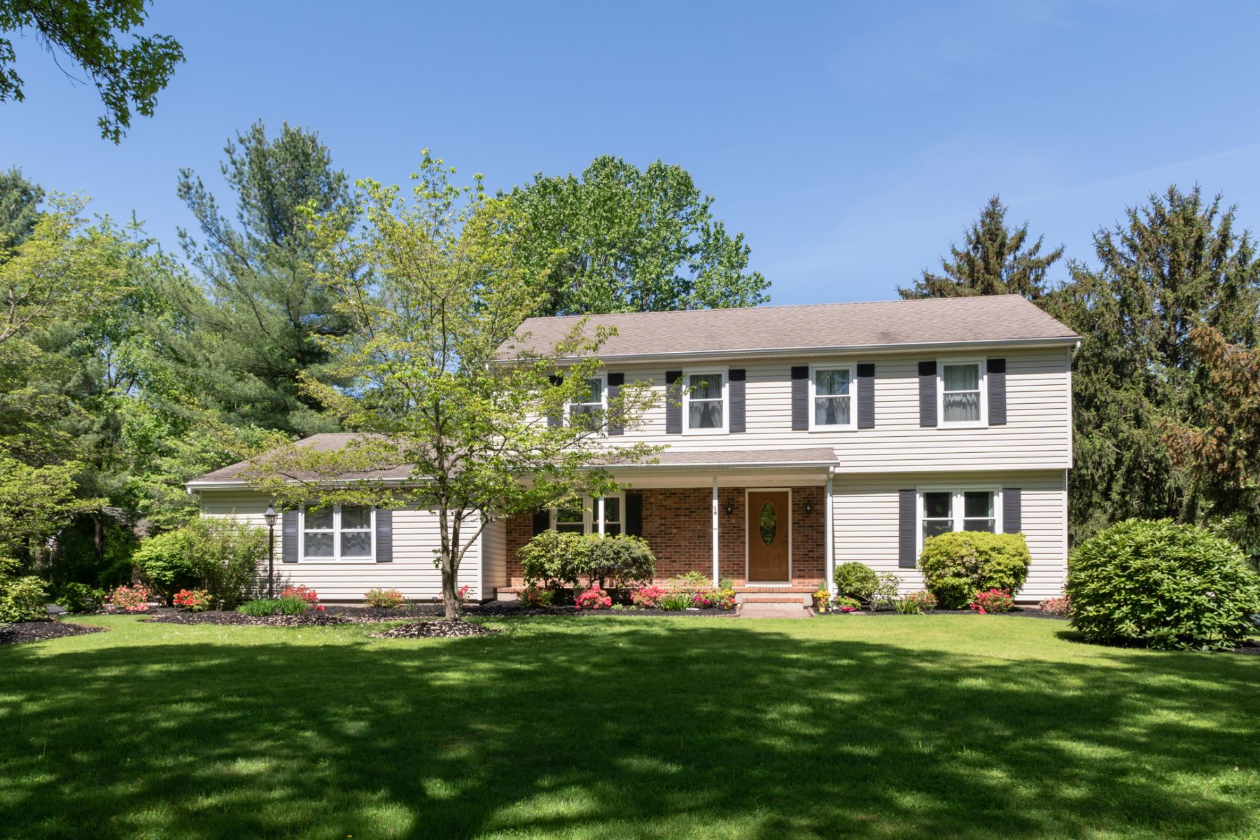single family homes for Sale at Picturesque and Attractively Appointed - Montgomery Township 22 Hoagland Drive, Belle Mead, New Jersey 08502 United States