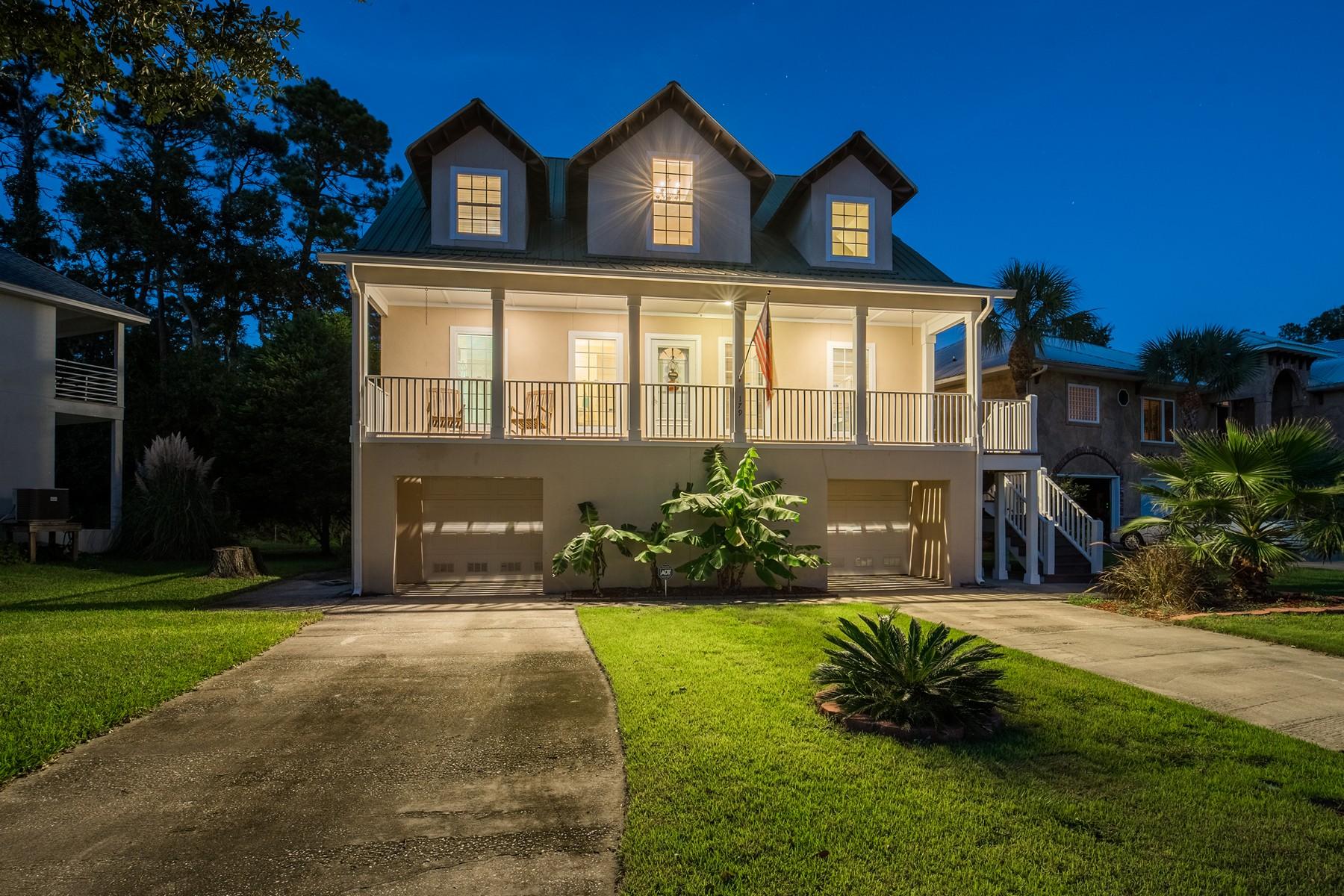 Single Family Homes for Active at 179 Palmera Lane Brunswick, Georgia 31525 United States