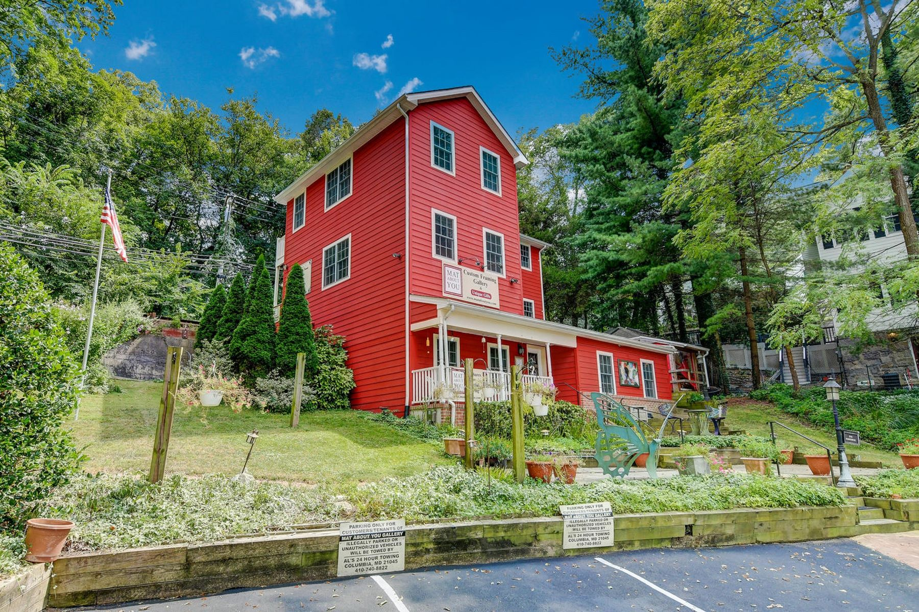 Single Family Homes for Sale at A Color-full Legacy 3774 Old Columbia Pike Ellicott City, Maryland 21043 United States