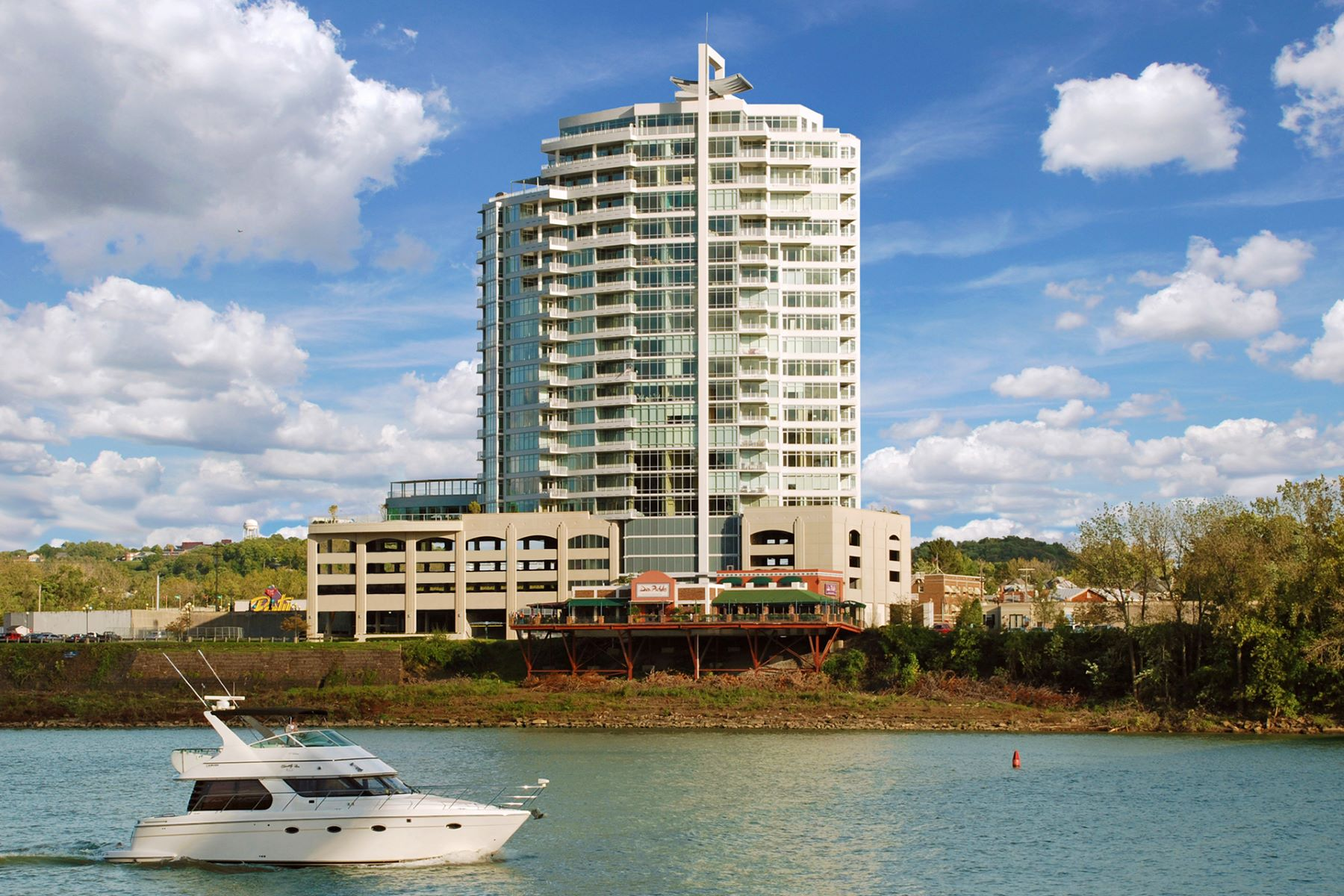 Condominium for Sale at Luxury Waterfront Living 400 Riverboat Row 704 Newport, Kentucky 41071 United States