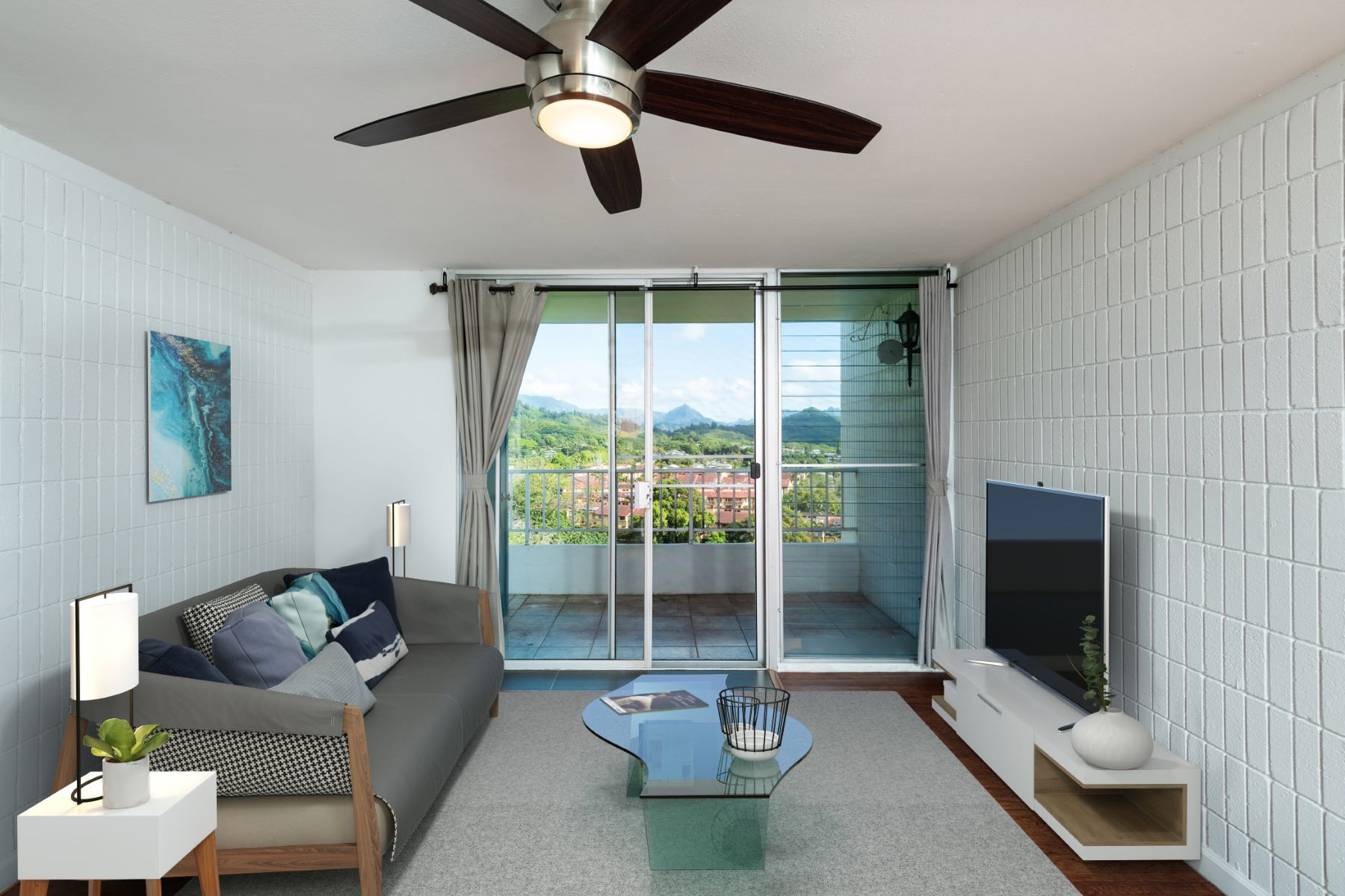 Condominiums 为 销售 在 Haiku Hale Condo, Kaneohe, Coastline Views, Mountain Views, Ocean Views 46-283 Kahuhipa Street #PH8 卡内里奥, 夏威夷 96744 美国