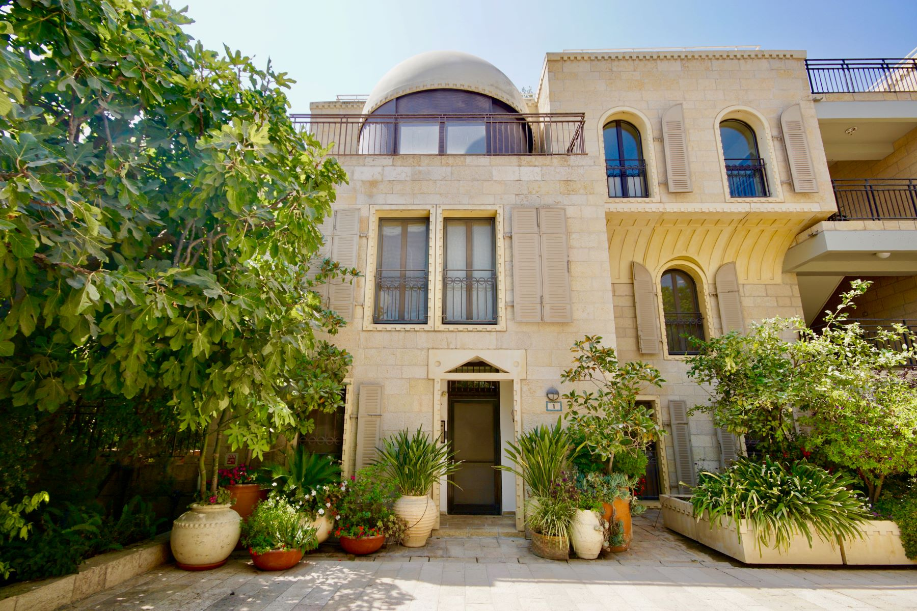 Duplex for Sale at Enchanting Home Centrally Located in David's Village, Jerusalem Jerusalem, Israel